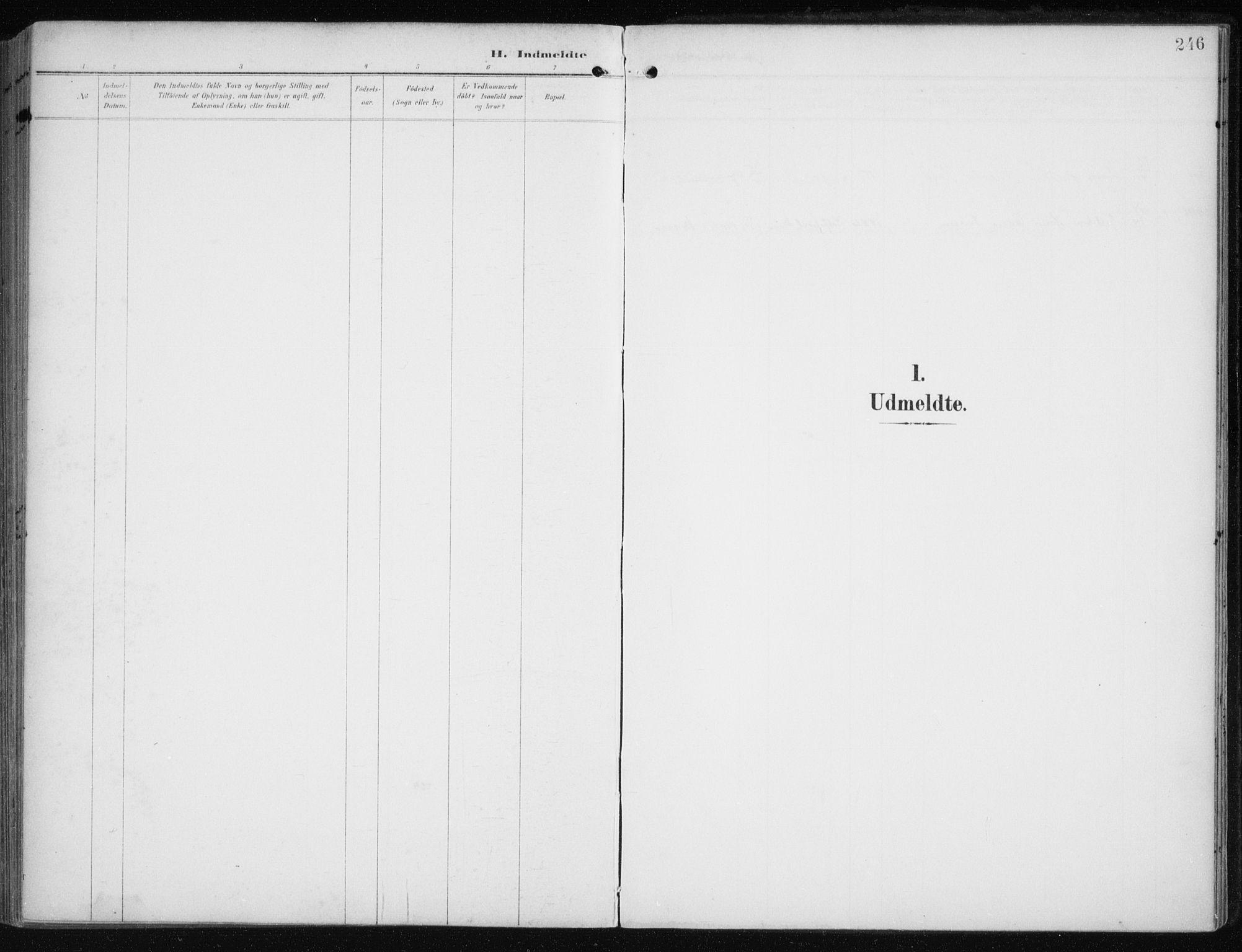 SATØ, Måsøy sokneprestkontor, H/Ha/L0009kirke: Ministerialbok nr. 9, 1903-1914, s. 246