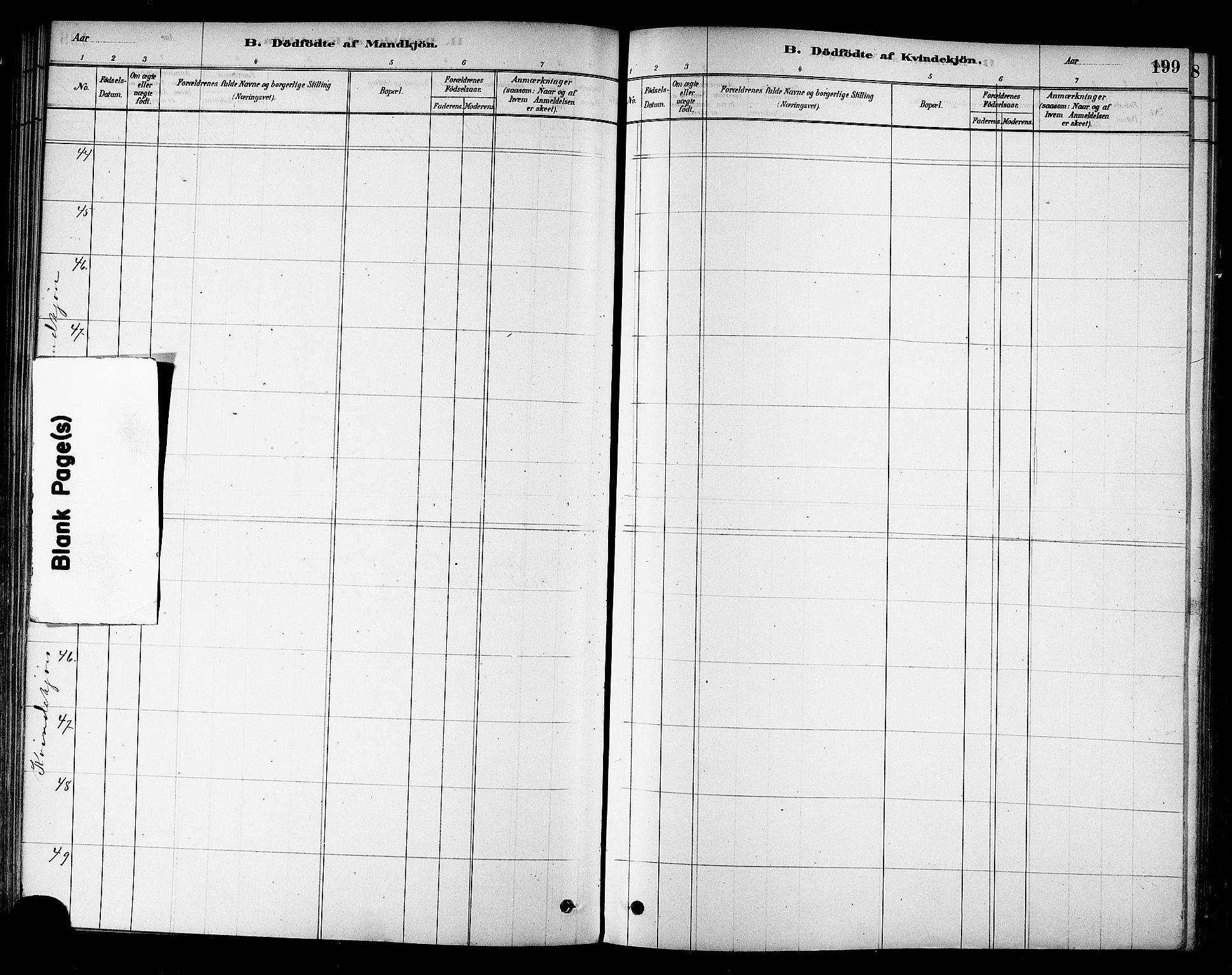 SAT, Ministerialprotokoller, klokkerbøker og fødselsregistre - Sør-Trøndelag, 695/L1148: Ministerialbok nr. 695A08, 1878-1891, s. 199