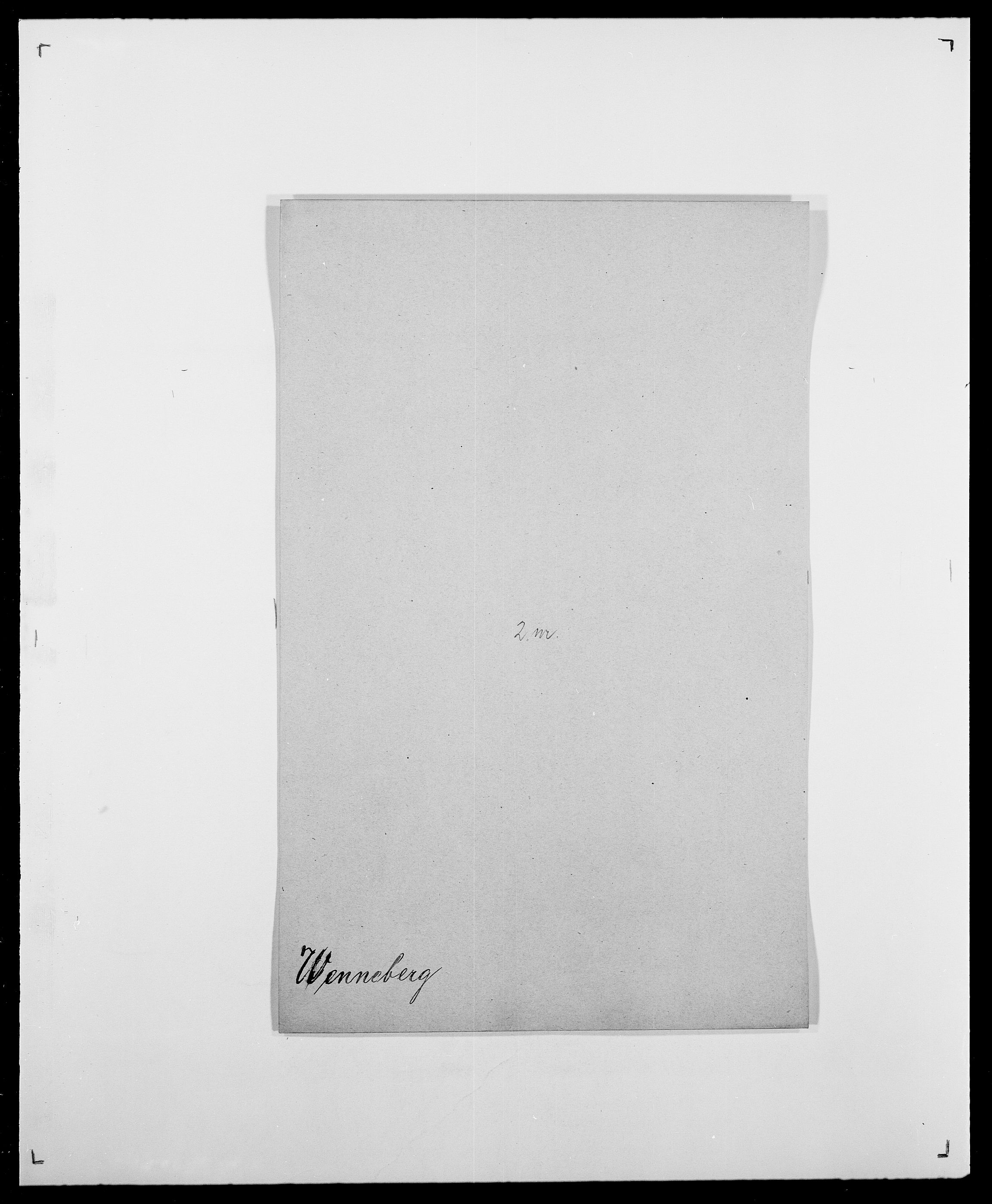 SAO, Delgobe, Charles Antoine - samling, D/Da/L0041: Vemmestad - Viker, s. 34