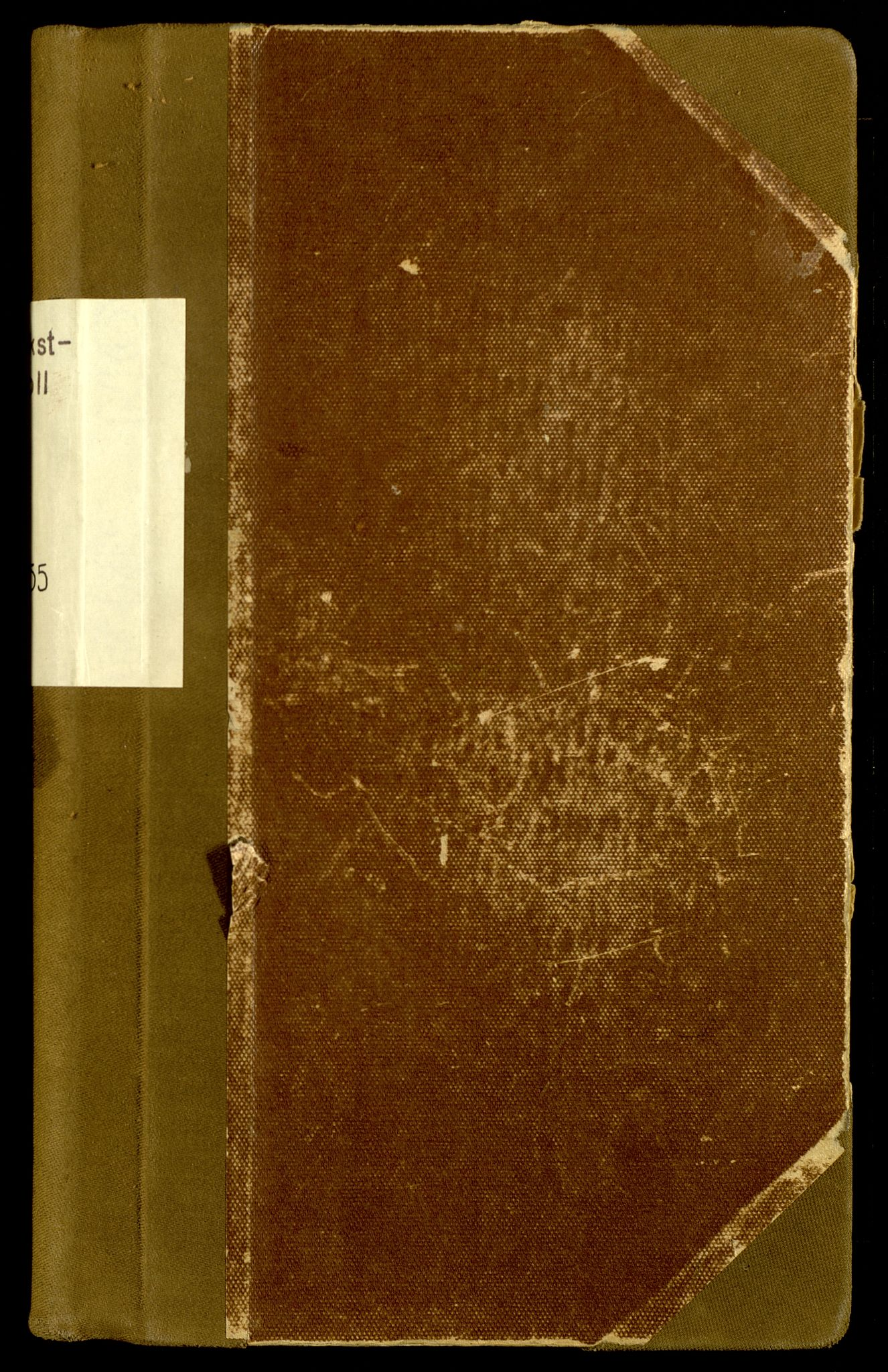 SAH, Norges Brannkasse, Grue, F/L0009: Branntakstprotokoll, 1951-1955