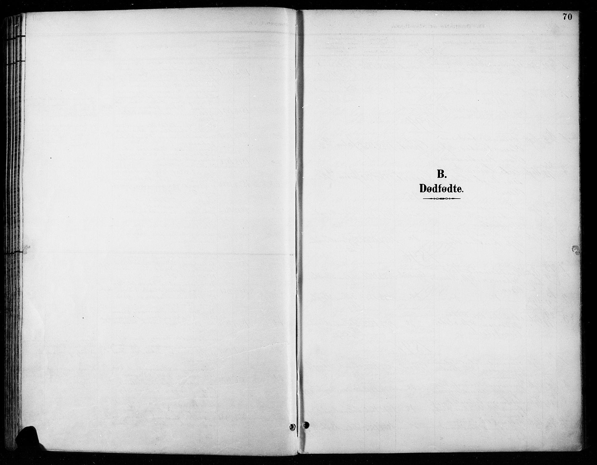 SAH, Vardal prestekontor, H/Ha/Haa/L0011: Ministerialbok nr. 11, 1891-1901, s. 70