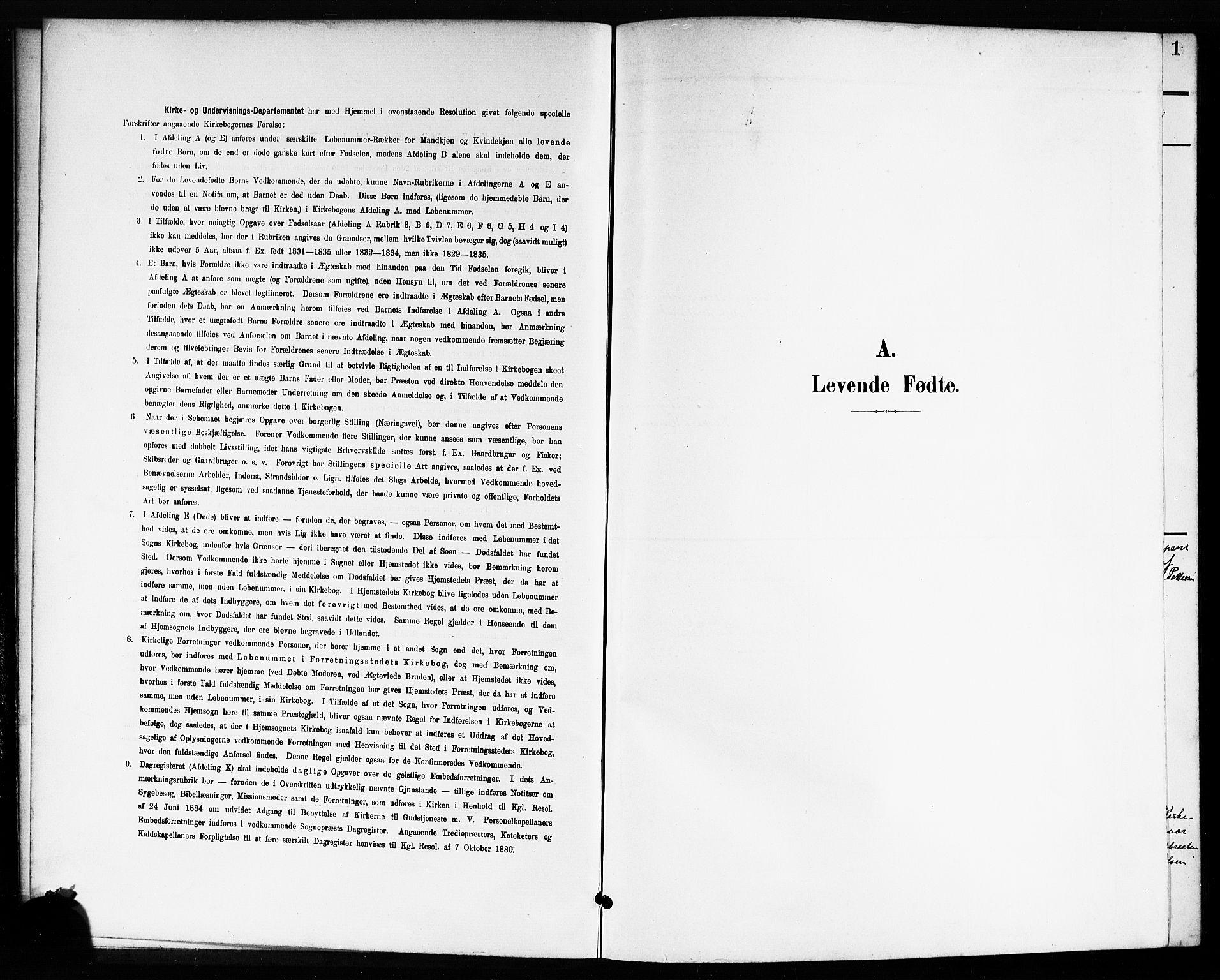 SAO, Drøbak prestekontor Kirkebøker, G/Gb/L0001: Klokkerbok nr. II 1, 1901-1919