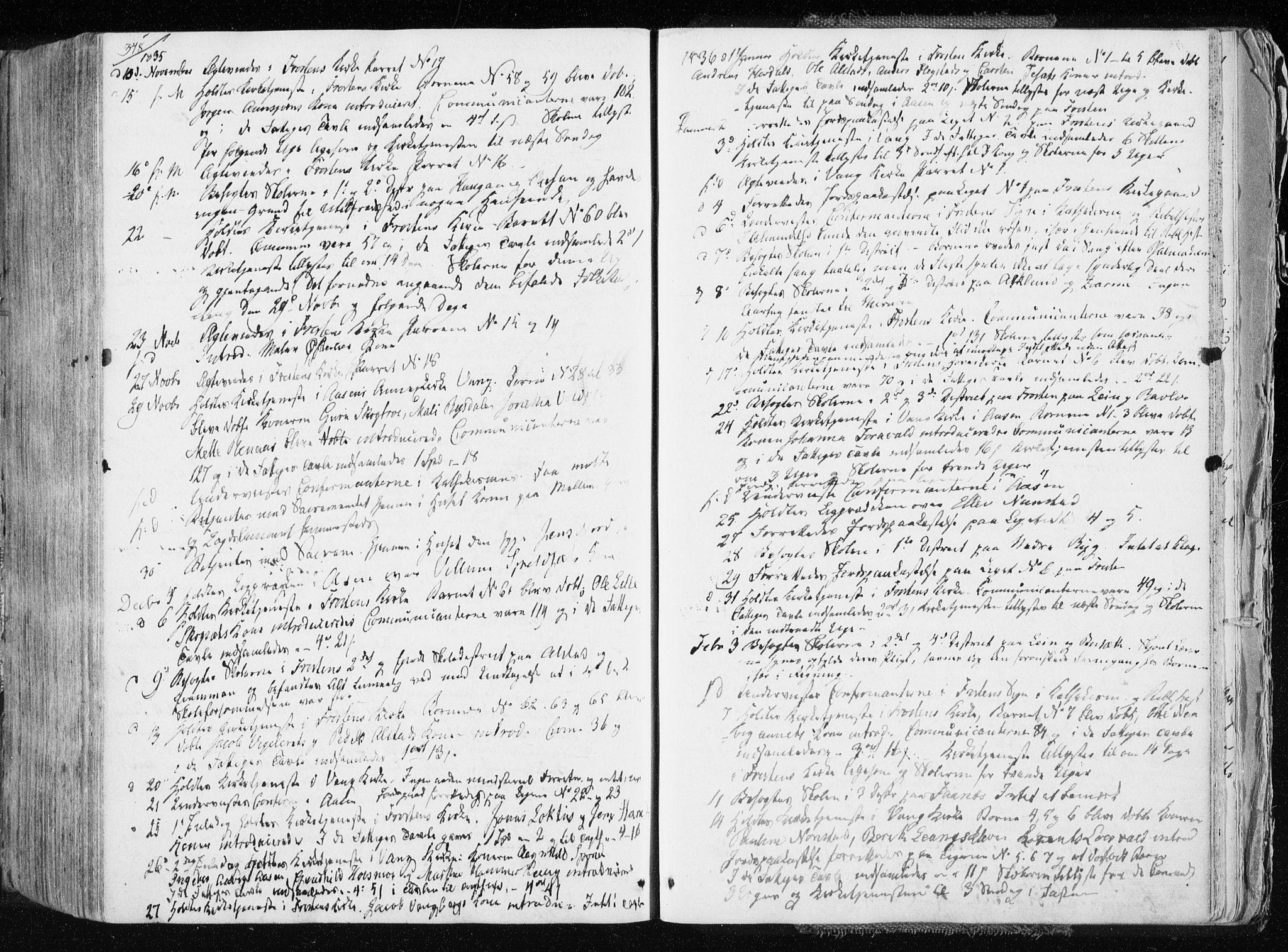 SAT, Ministerialprotokoller, klokkerbøker og fødselsregistre - Nord-Trøndelag, 713/L0114: Ministerialbok nr. 713A05, 1827-1839, s. 348