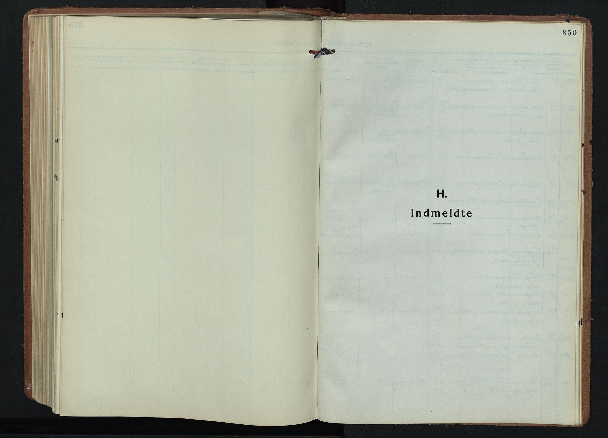 SAH, Fåberg prestekontor, Klokkerbok nr. 15, 1924-1949, s. 350