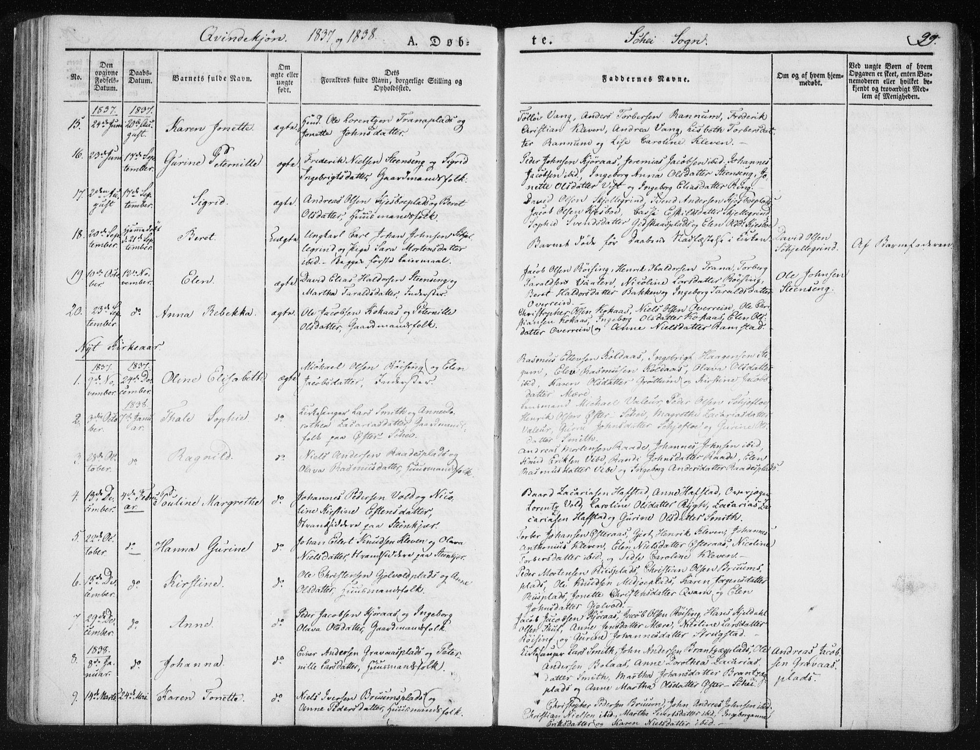 SAT, Ministerialprotokoller, klokkerbøker og fødselsregistre - Nord-Trøndelag, 735/L0339: Ministerialbok nr. 735A06 /2, 1836-1848, s. 99