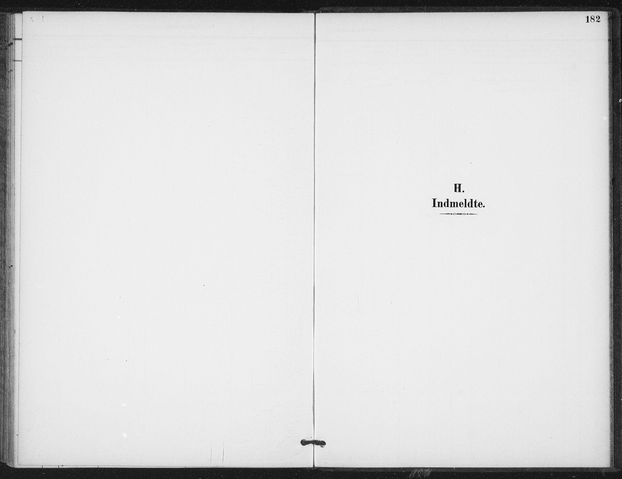 SAT, Ministerialprotokoller, klokkerbøker og fødselsregistre - Nord-Trøndelag, 714/L0131: Ministerialbok nr. 714A02, 1896-1918, s. 182