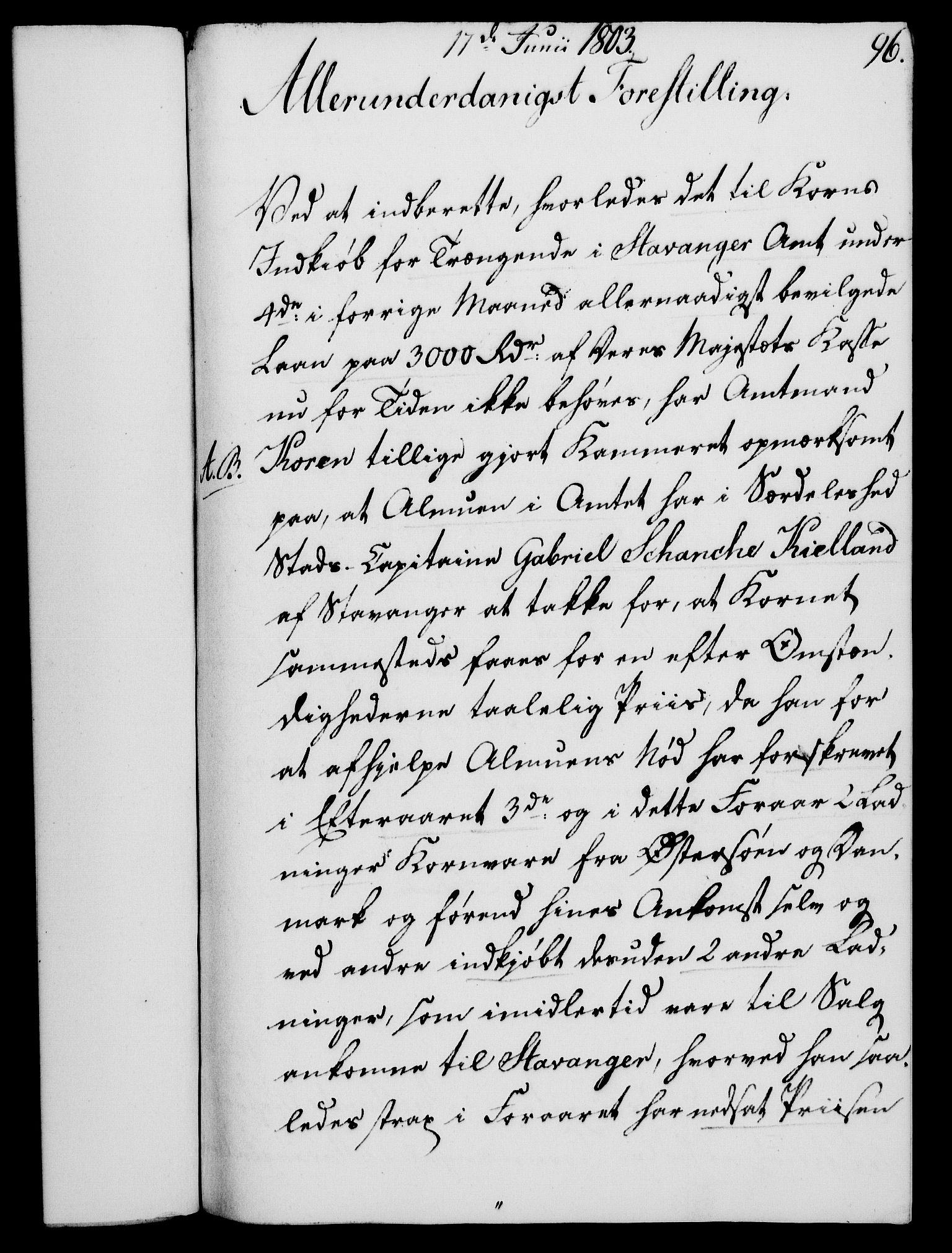 RA, Rentekammeret, Kammerkanselliet, G/Gf/Gfa/L0085: Norsk relasjons- og resolusjonsprotokoll (merket RK 52.85), 1803, s. 566