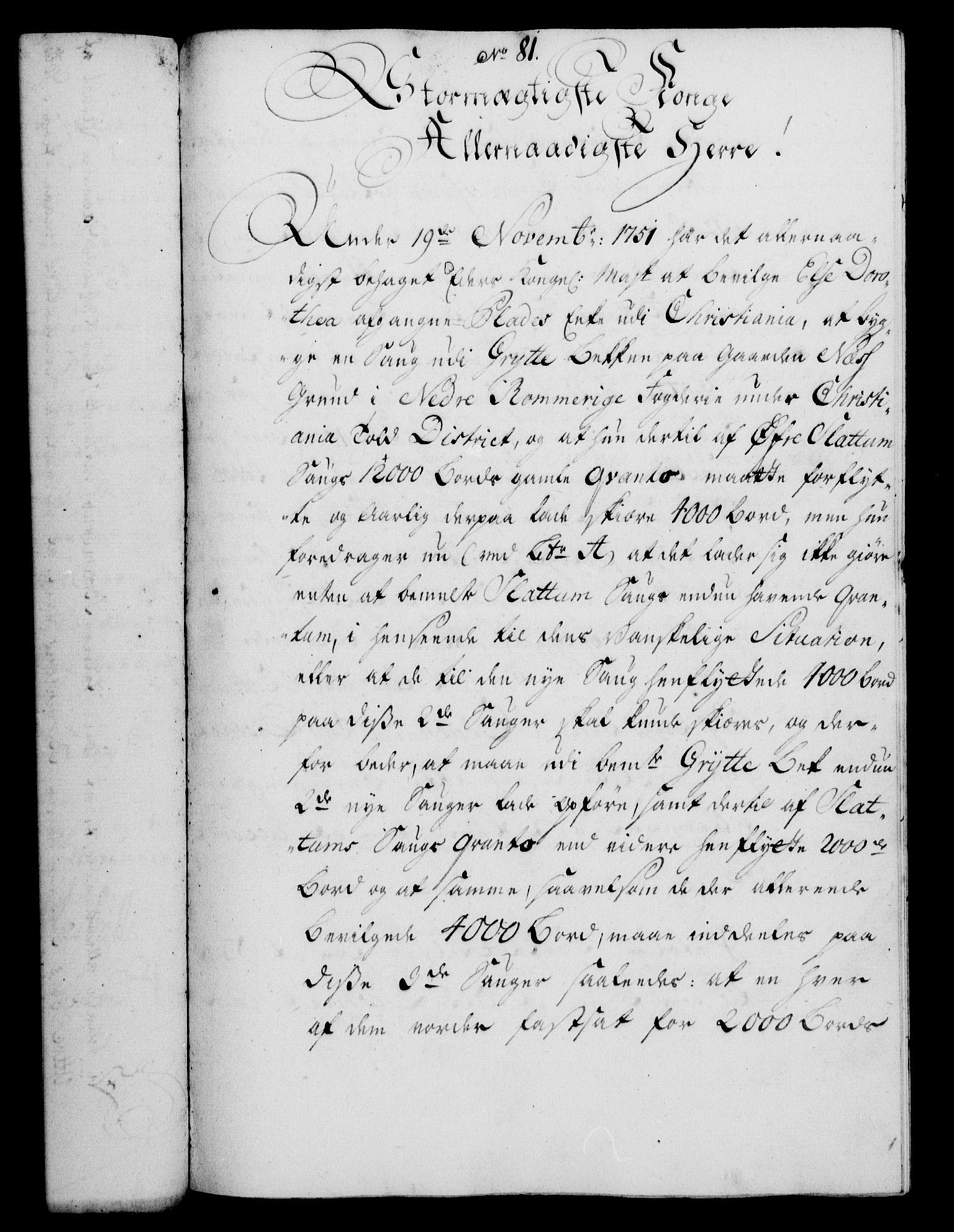 RA, Rentekammeret, Kammerkanselliet, G/Gf/Gfa/L0036: Norsk relasjons- og resolusjonsprotokoll (merket RK 52.36), 1754, s. 484