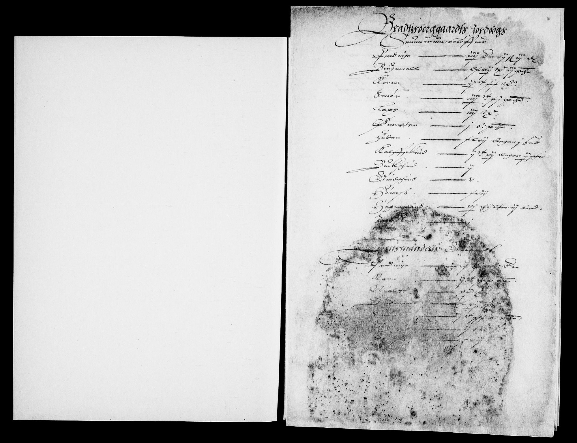 RA, Danske Kanselli, Skapsaker, G/L0019: Tillegg til skapsakene, 1616-1753, s. 56