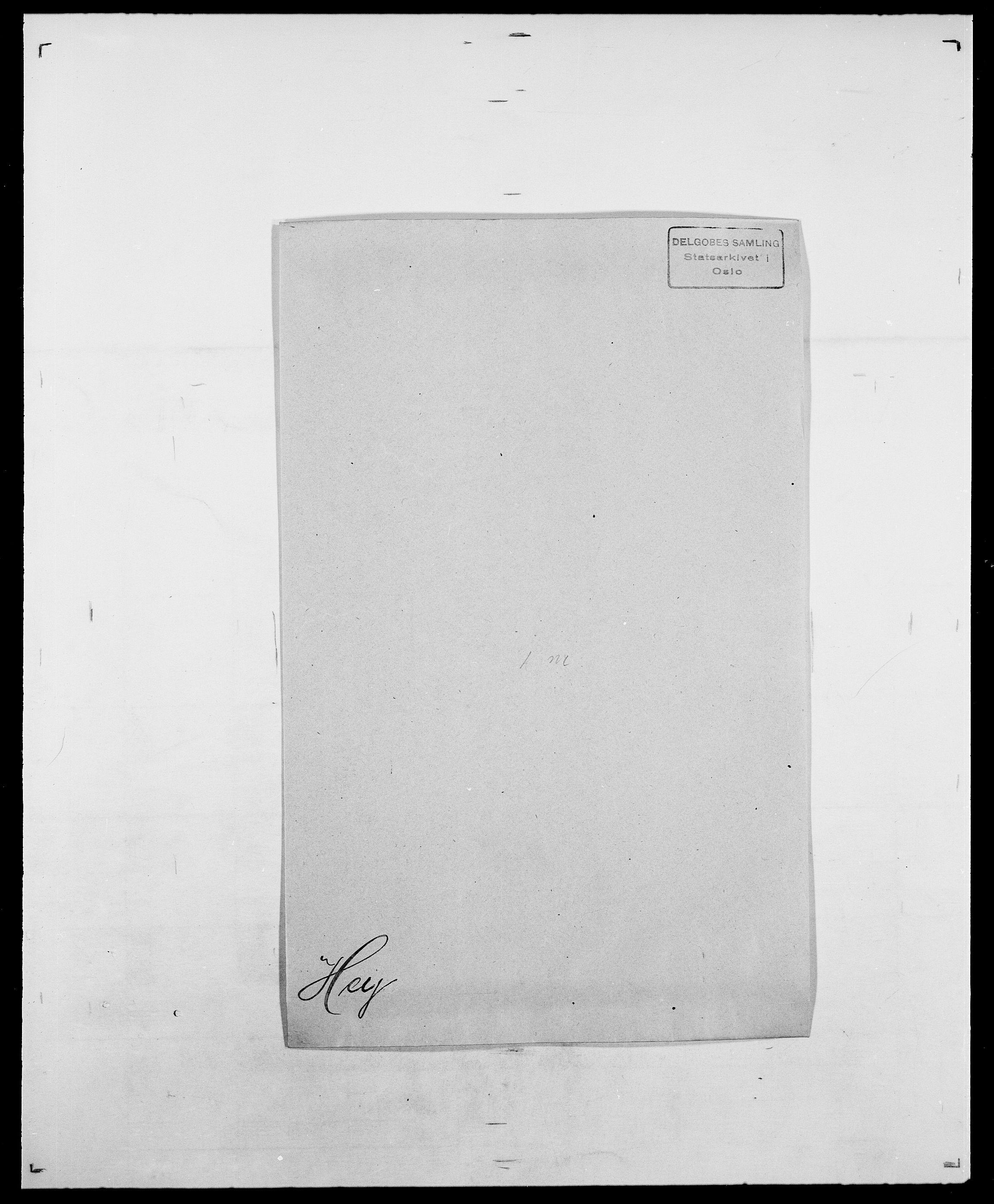 SAO, Delgobe, Charles Antoine - samling, D/Da/L0017: Helander - Hjørne, s. 375