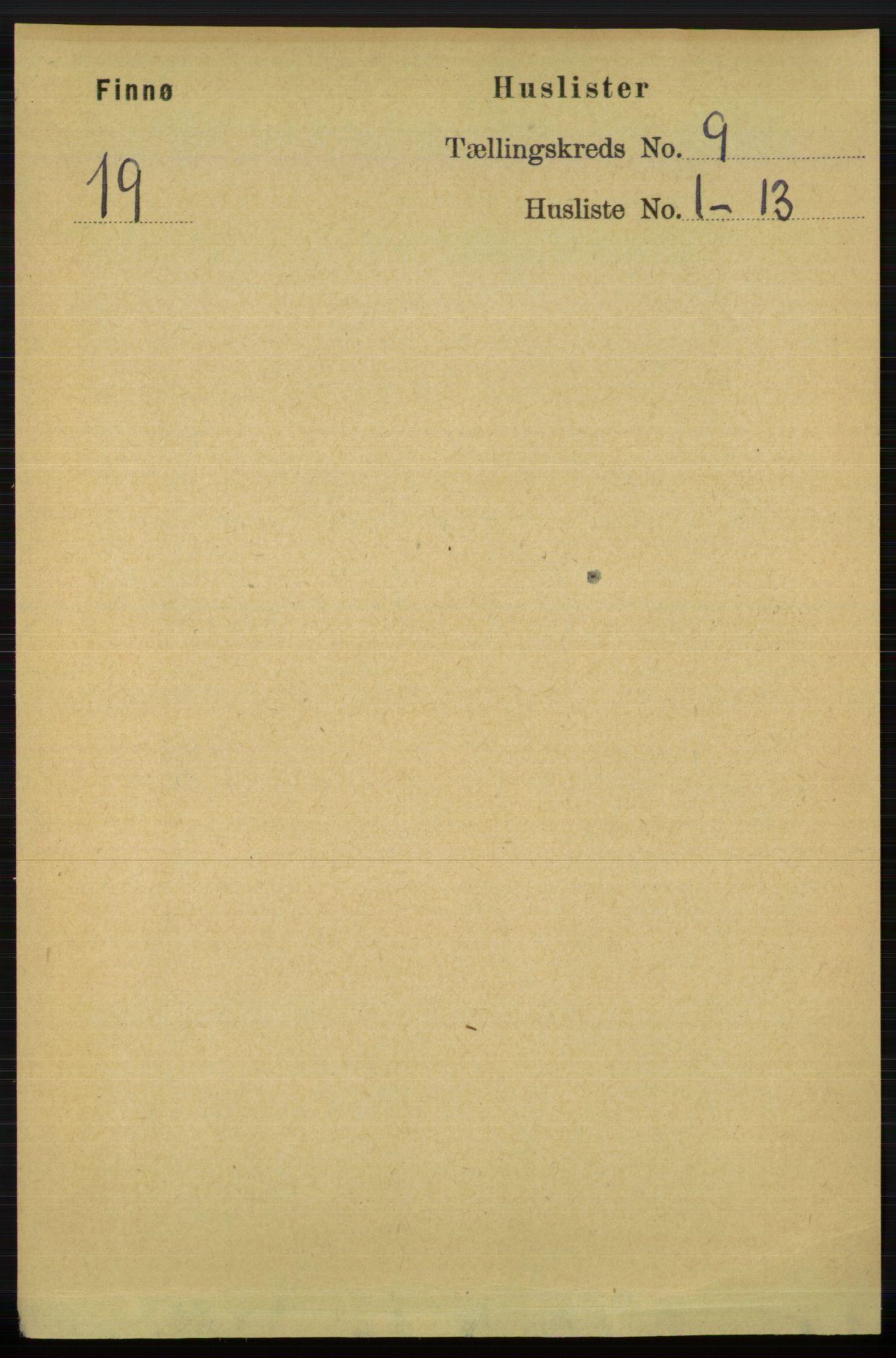 RA, Folketelling 1891 for 1141 Finnøy herred, 1891, s. 1847