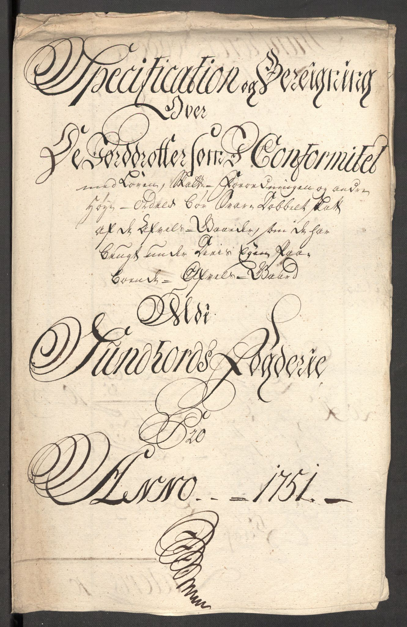 RA, Rentekammeret inntil 1814, Reviderte regnskaper, Fogderegnskap, R48/L3056: Fogderegnskap Sunnhordland og Hardanger, 1751, s. 132