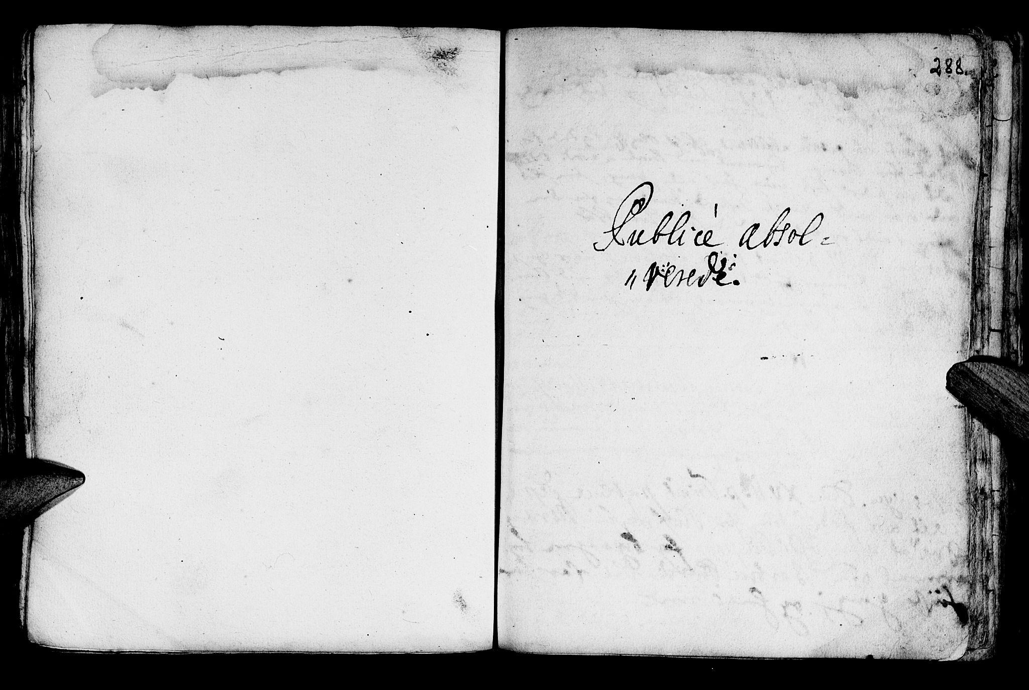 SAT, Ministerialprotokoller, klokkerbøker og fødselsregistre - Nord-Trøndelag, 722/L0215: Ministerialbok nr. 722A02, 1718-1755, s. 288