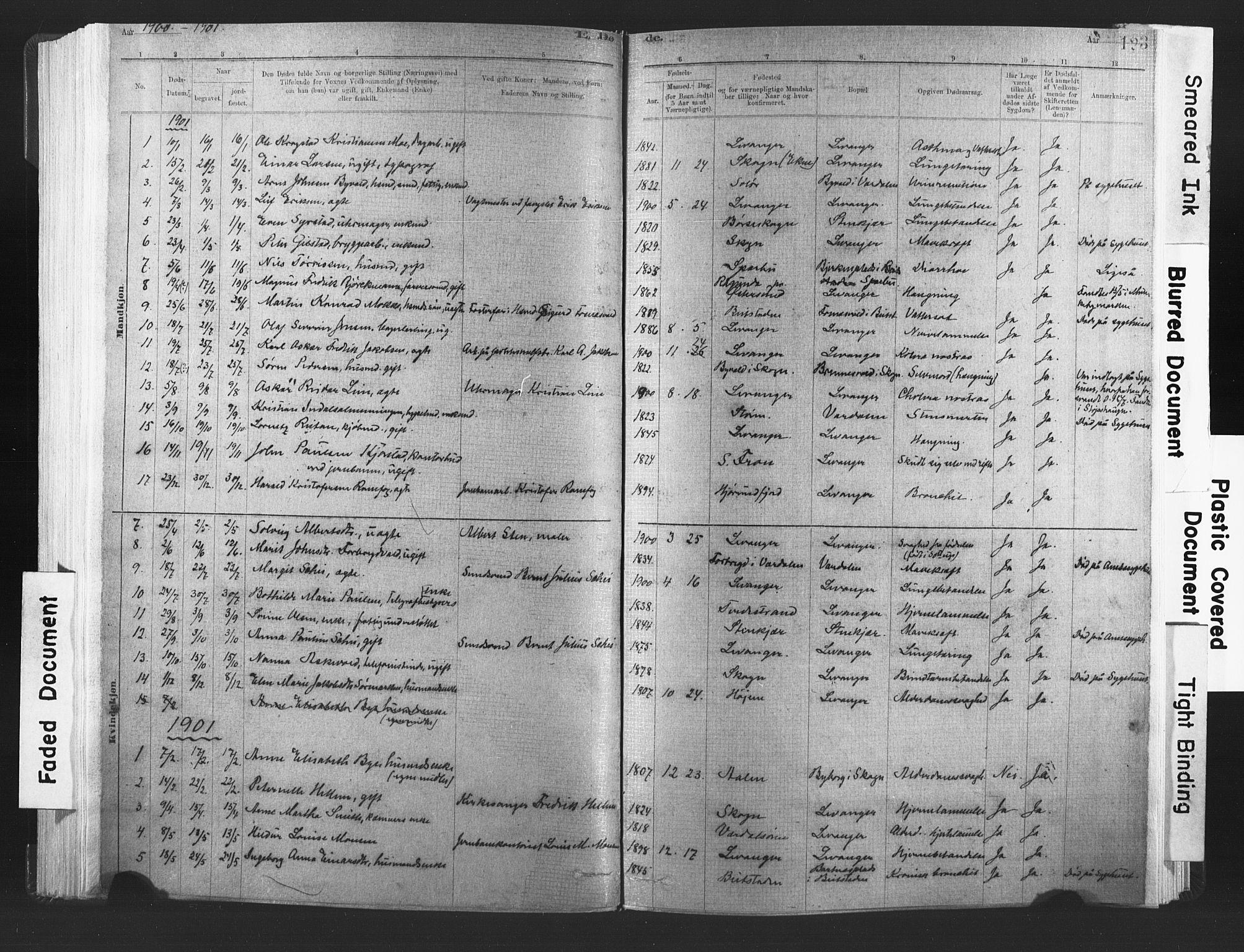 SAT, Ministerialprotokoller, klokkerbøker og fødselsregistre - Nord-Trøndelag, 720/L0189: Ministerialbok nr. 720A05, 1880-1911, s. 123