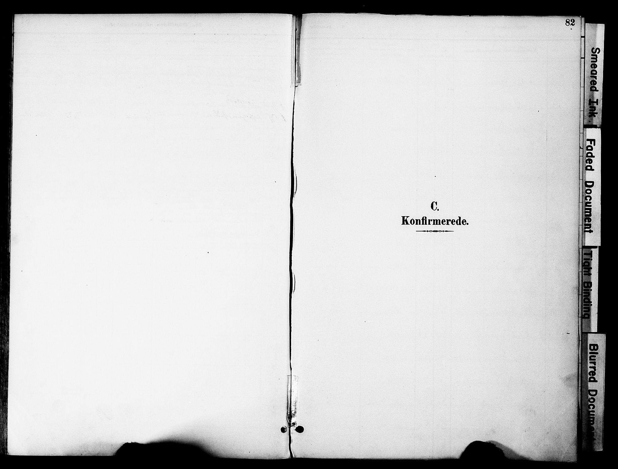 SAH, Gran prestekontor, Ministerialbok nr. 20, 1889-1899, s. 82