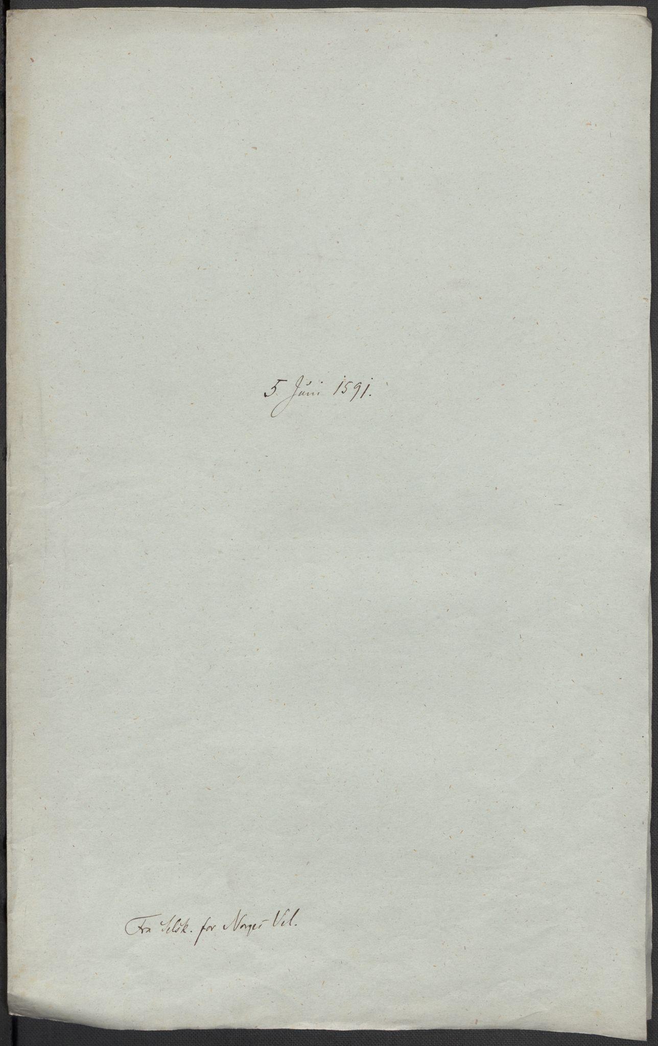 RA, Riksarkivets diplomsamling, F02/L0093: Dokumenter, 1591, s. 95
