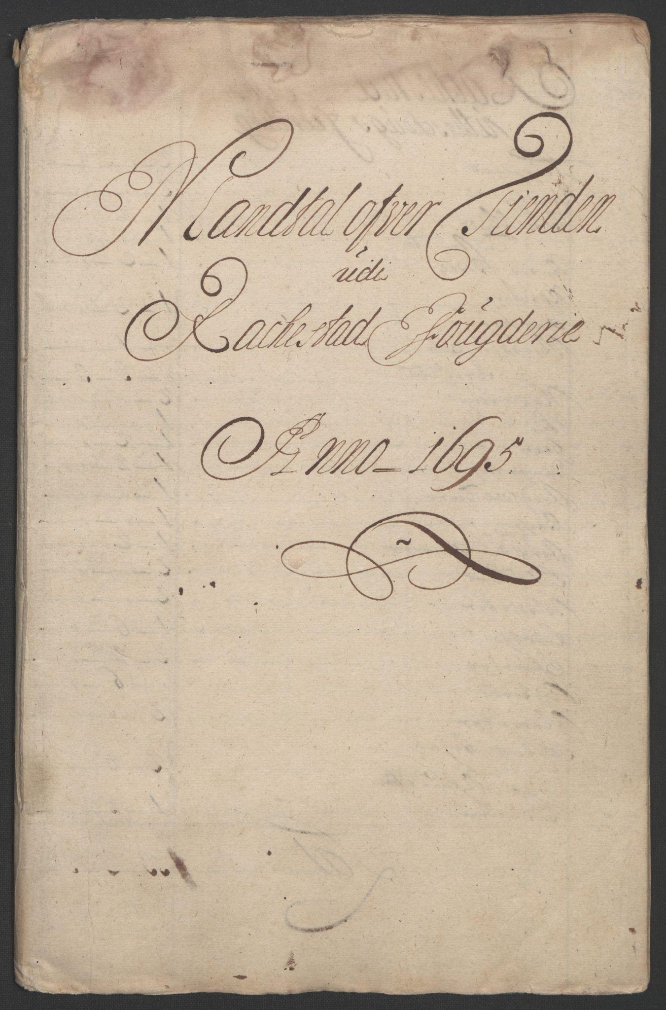 RA, Rentekammeret inntil 1814, Reviderte regnskaper, Fogderegnskap, R07/L0285: Fogderegnskap Rakkestad, Heggen og Frøland, 1695, s. 30