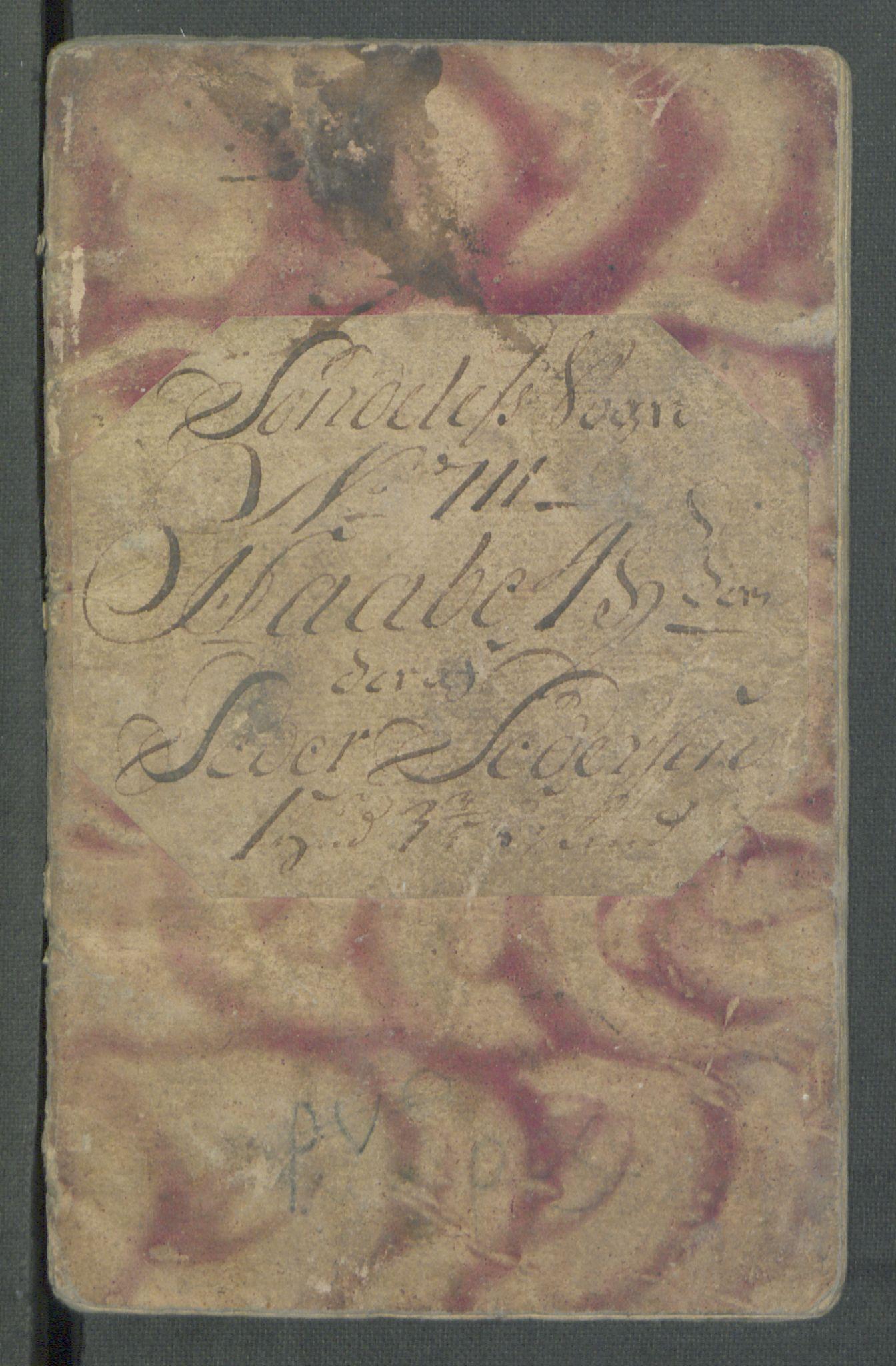 RA, Rentekammeret inntil 1814, Realistisk ordnet avdeling, Od/L0001: Oppløp, 1786-1769, s. 564