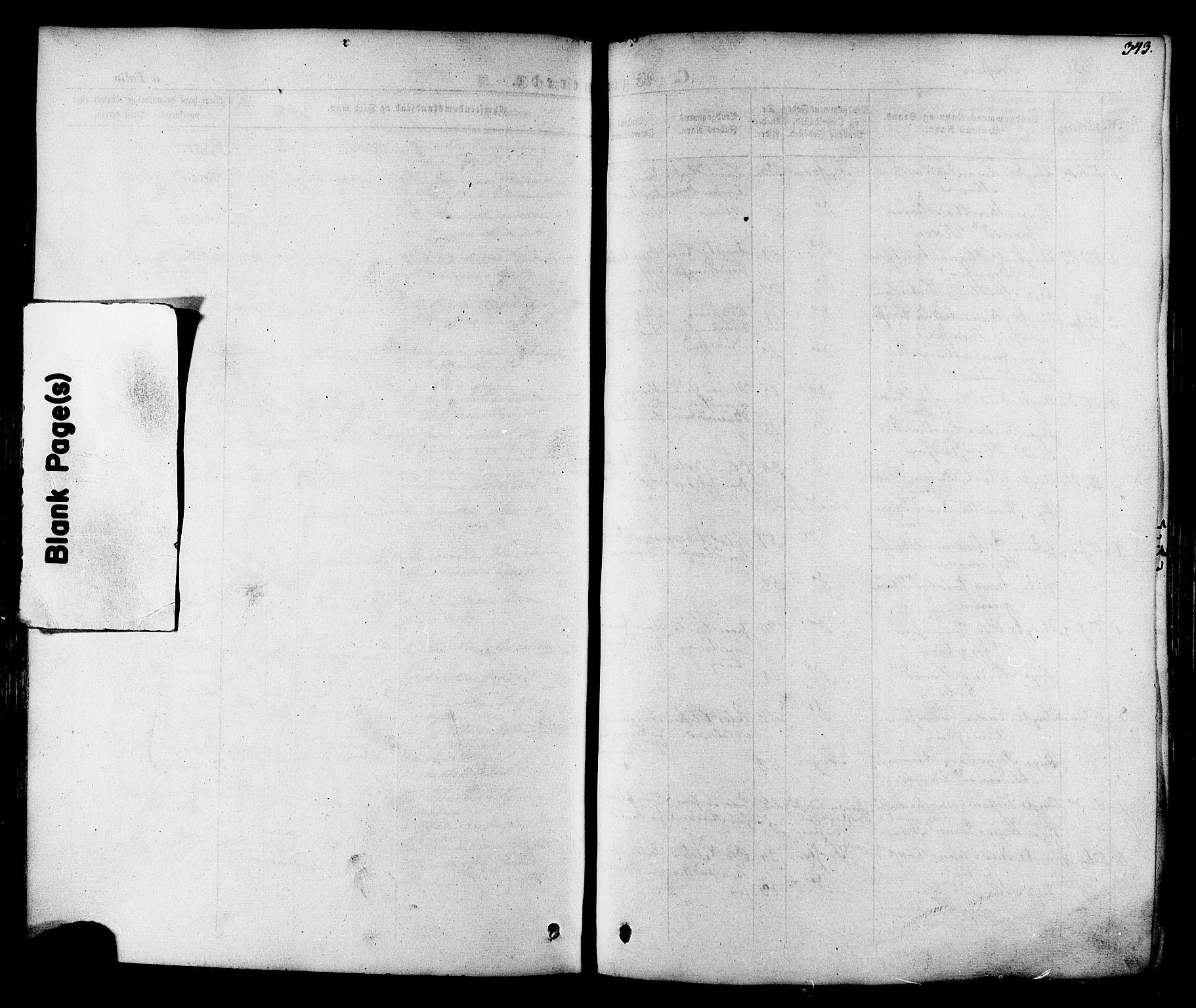 SAT, Ministerialprotokoller, klokkerbøker og fødselsregistre - Nord-Trøndelag, 713/L0116: Ministerialbok nr. 713A07, 1850-1877, s. 343