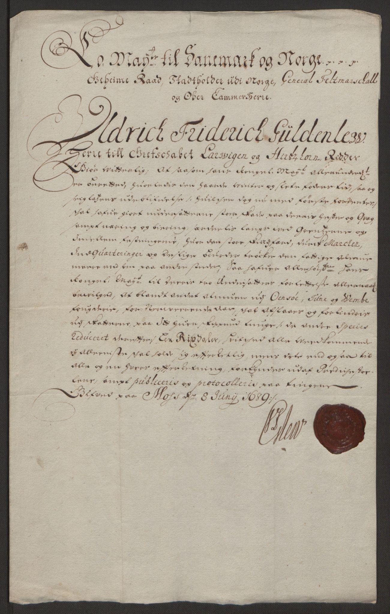 RA, Rentekammeret inntil 1814, Reviderte regnskaper, Fogderegnskap, R03/L0118: Fogderegnskap Onsøy, Tune, Veme og Åbygge fogderi, 1684-1689, s. 268