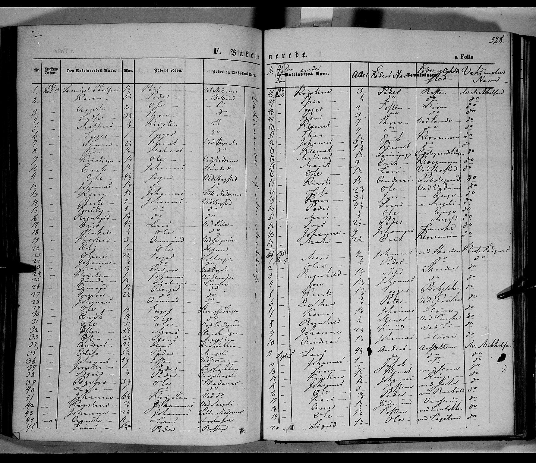 SAH, Øyer prestekontor, Ministerialbok nr. 5, 1842-1857, s. 328