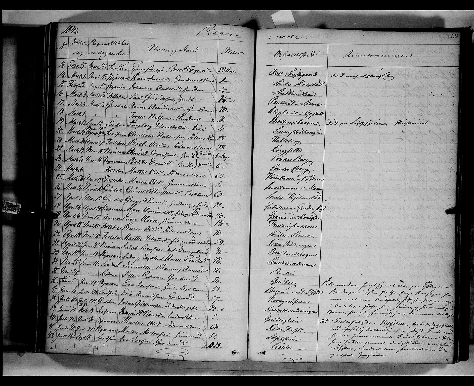 SAH, Gausdal prestekontor, Ministerialbok nr. 7, 1840-1850, s. 238