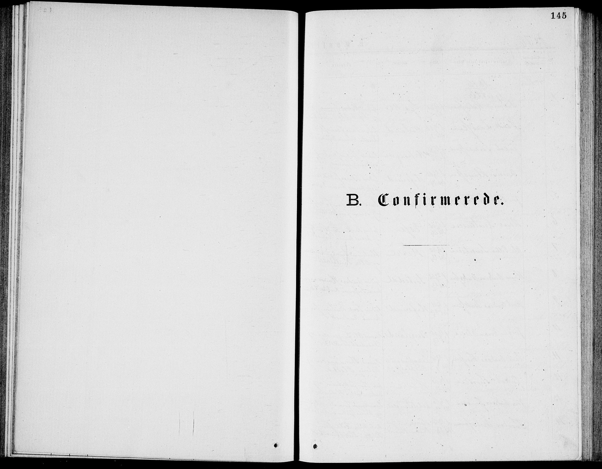 SAKO, Bamble kirkebøker, G/Ga/L0007: Klokkerbok nr. I 7, 1876-1877, s. 145