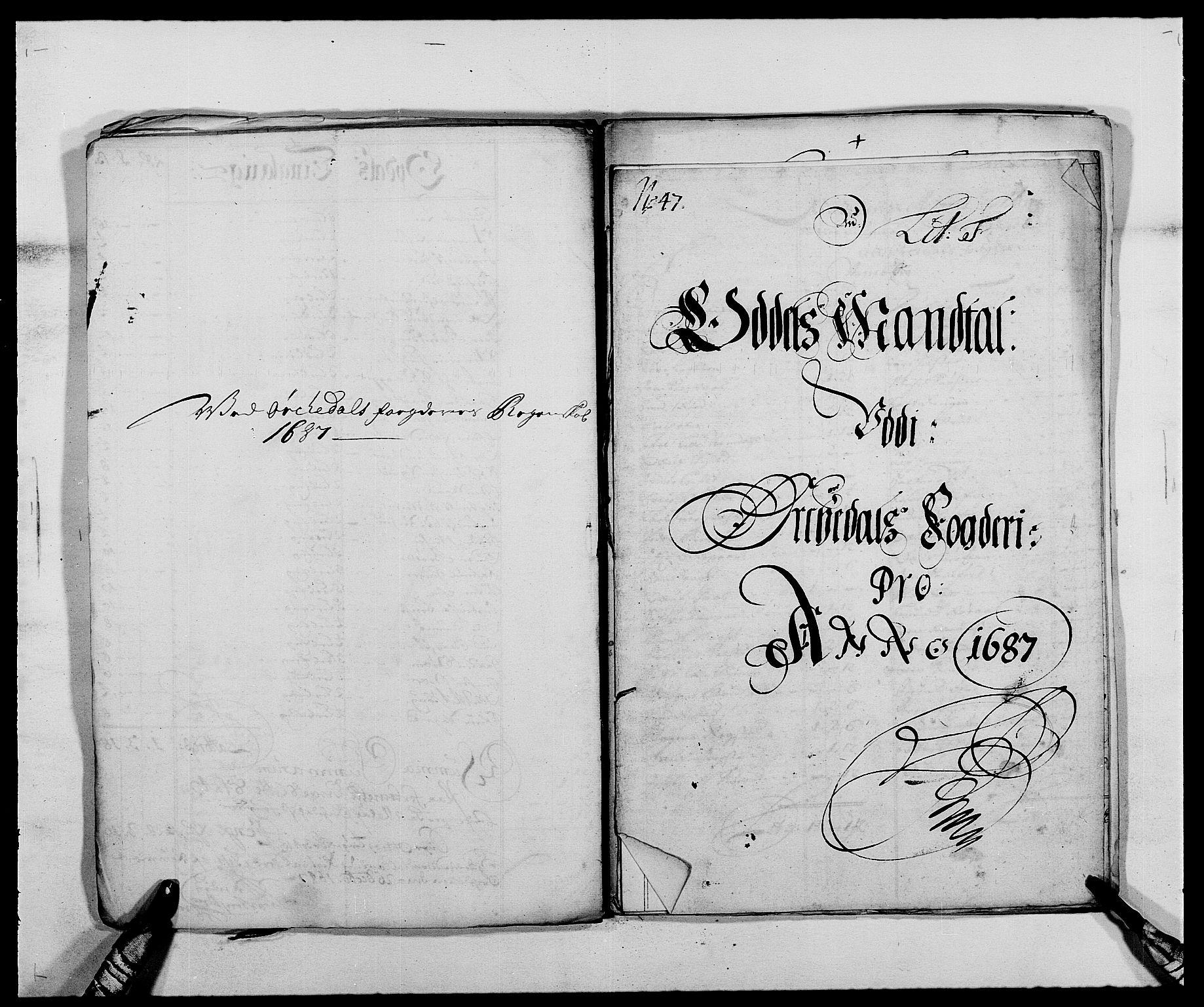 RA, Rentekammeret inntil 1814, Reviderte regnskaper, Fogderegnskap, R58/L3935: Fogderegnskap Orkdal, 1687-1688, s. 82