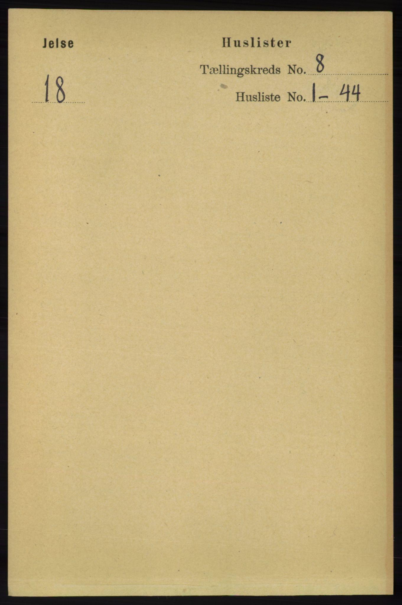 RA, Folketelling 1891 for 1138 Jelsa herred, 1891, s. 1756