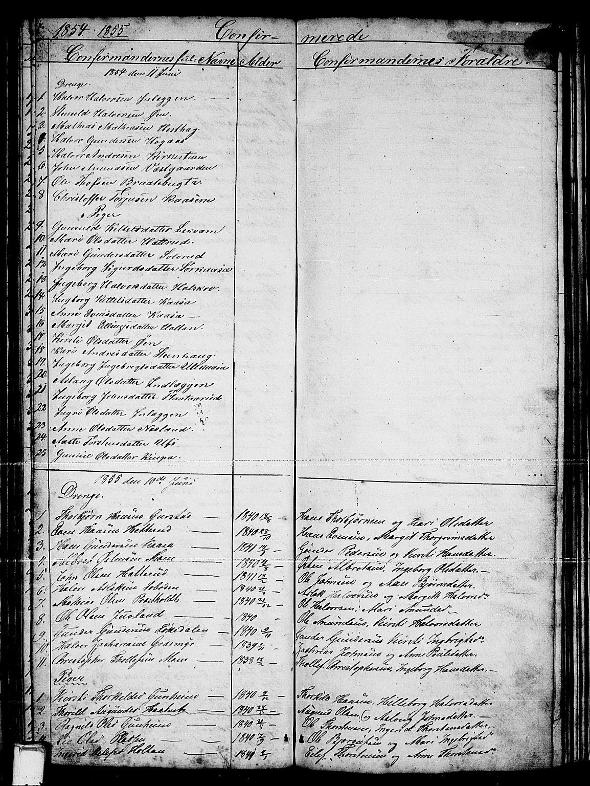 SAKO, Sauherad kirkebøker, G/Gb/L0001: Klokkerbok nr. II 1, 1845-1865, s. 64