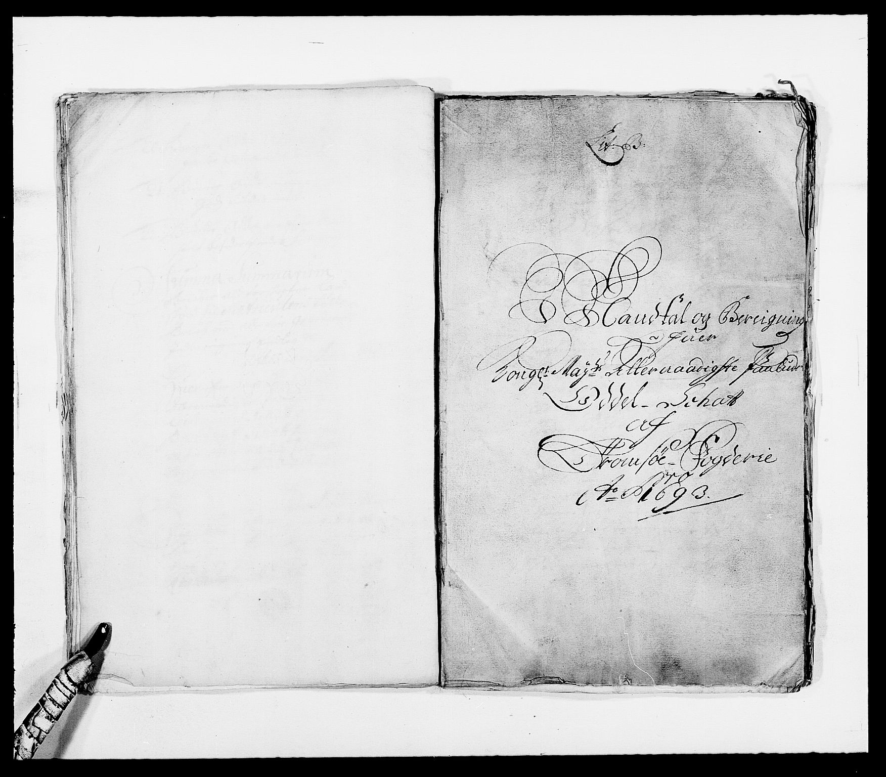 RA, Rentekammeret inntil 1814, Reviderte regnskaper, Fogderegnskap, R68/L4751: Fogderegnskap Senja og Troms, 1690-1693, s. 300