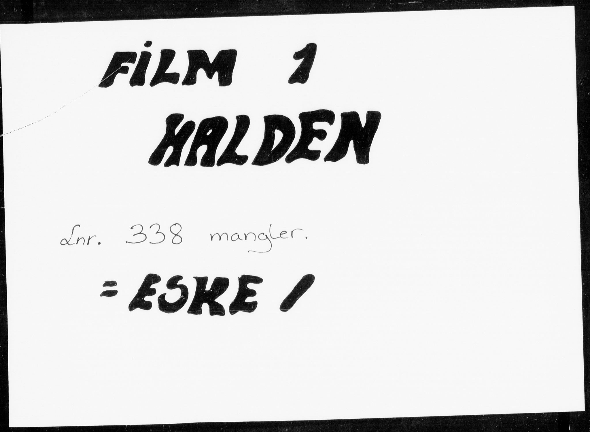 RA, Folketelling 1885 for 0101 Fredrikshald kjøpstad, 1885, s. 1
