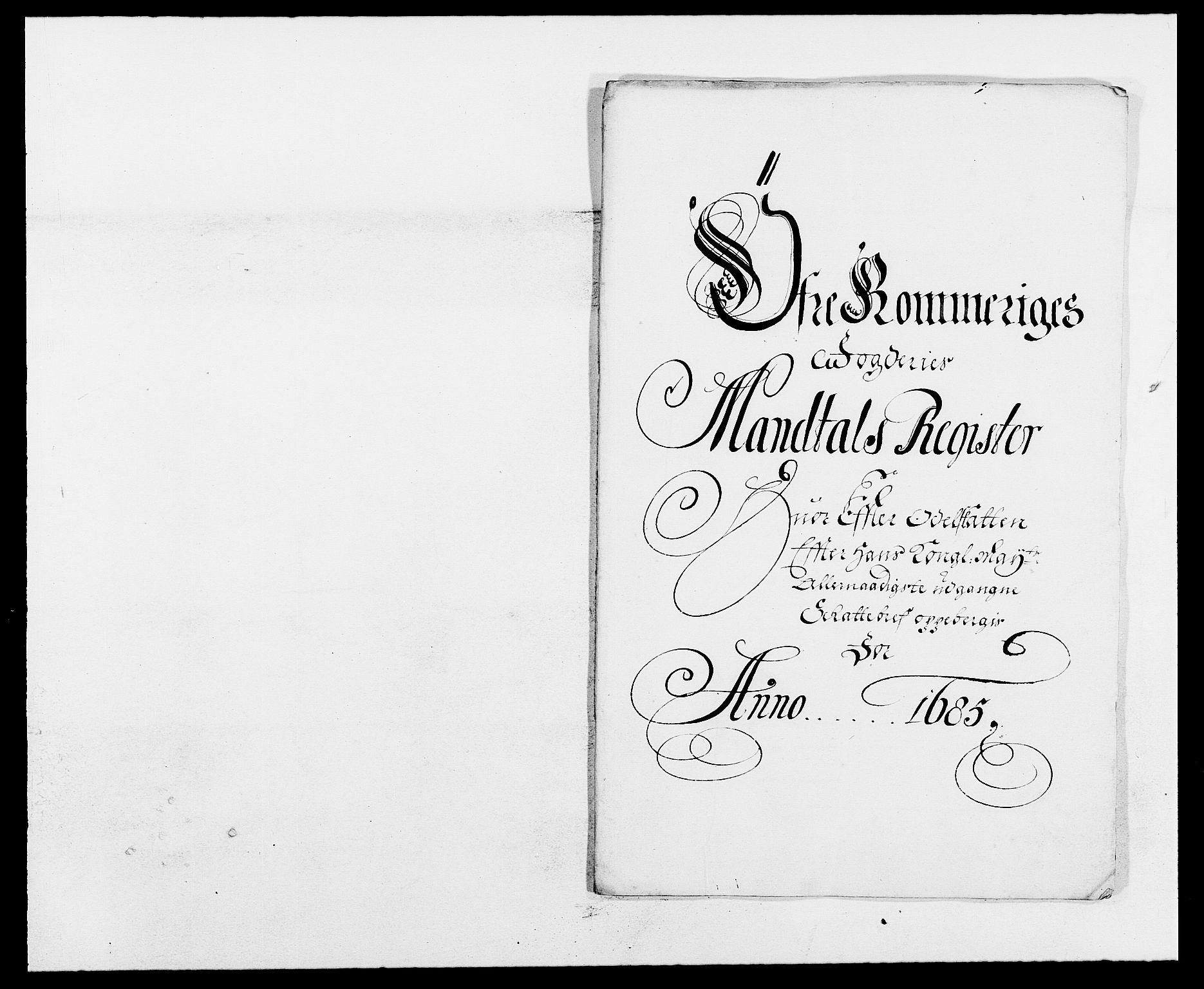 RA, Rentekammeret inntil 1814, Reviderte regnskaper, Fogderegnskap, R12/L0699: Fogderegnskap Øvre Romerike, 1685-1686, s. 53