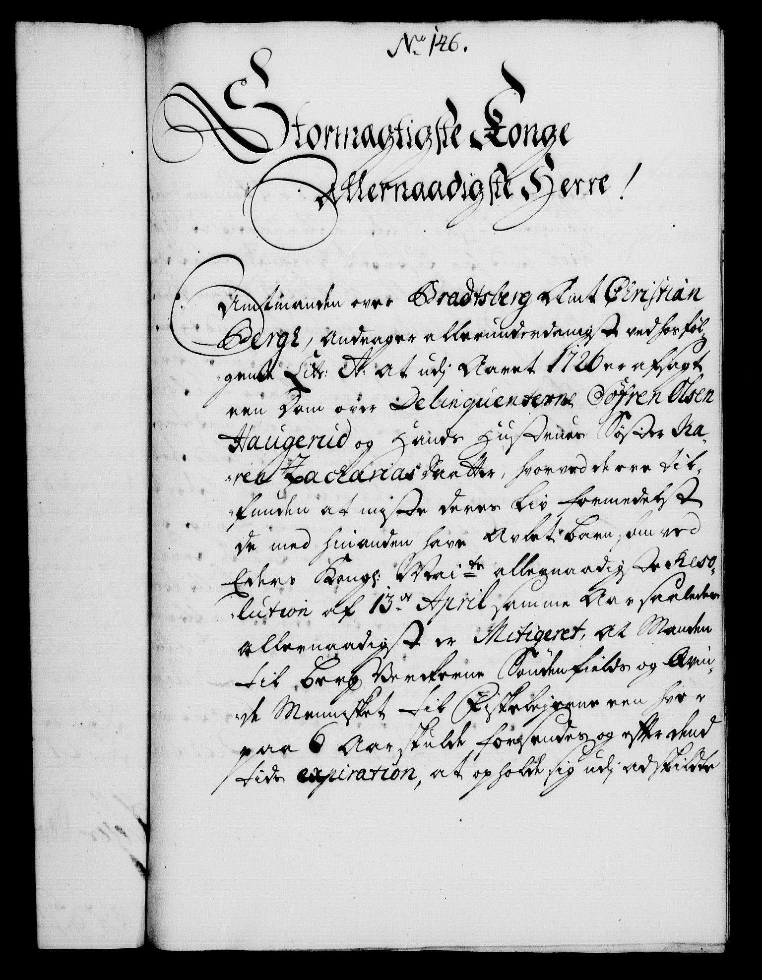 RA, Rentekammeret, Kammerkanselliet, G/Gf/Gfa/L0010: Norsk relasjons- og resolusjonsprotokoll (merket RK 52.10), 1727, s. 1049