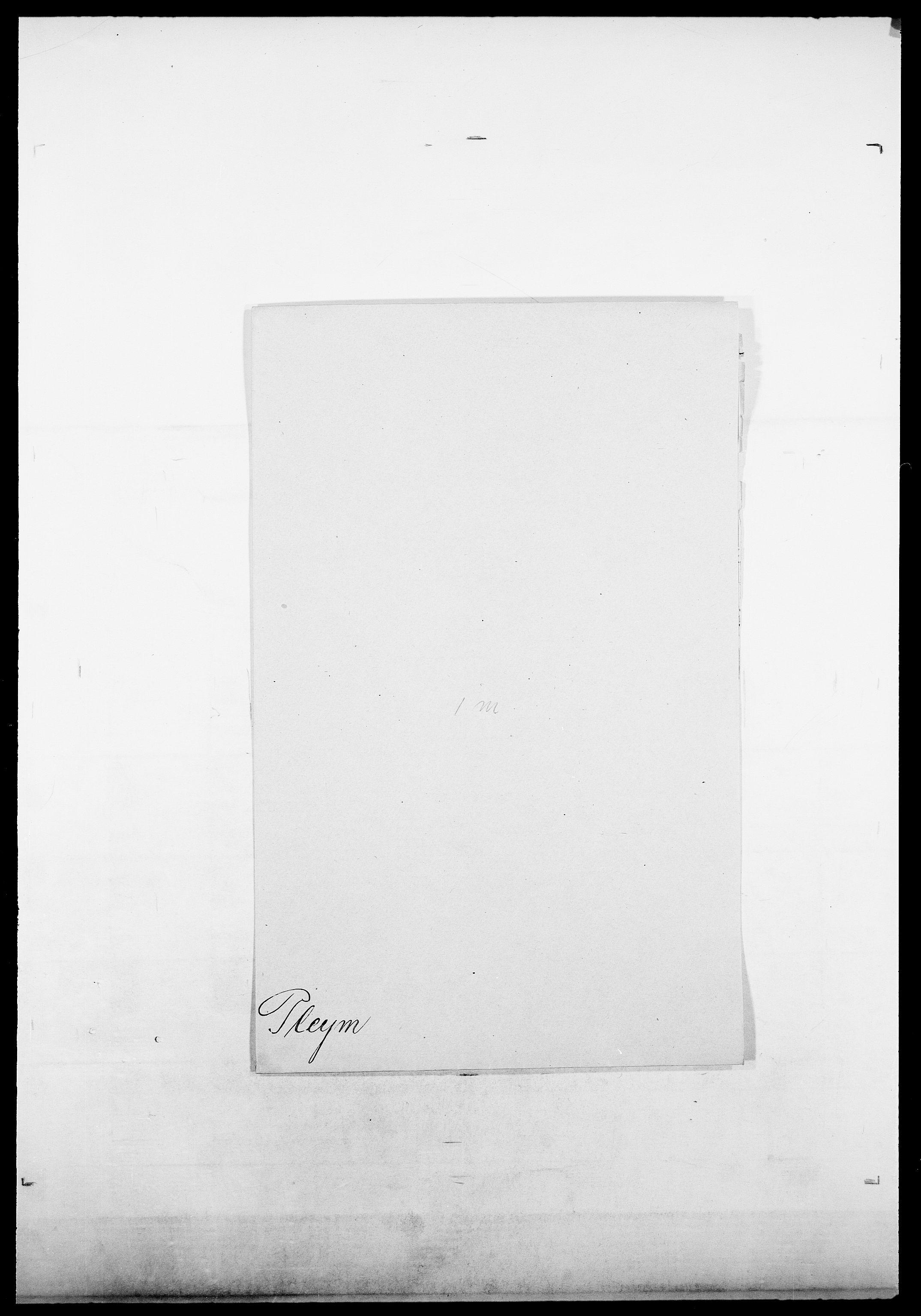SAO, Delgobe, Charles Antoine - samling, D/Da/L0031: de Place - Raaum, s. 125