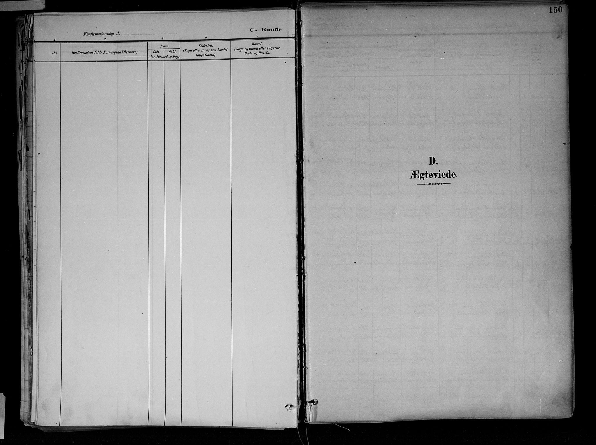 SAH, Jevnaker prestekontor, Ministerialbok nr. 10, 1891-1906, s. 150