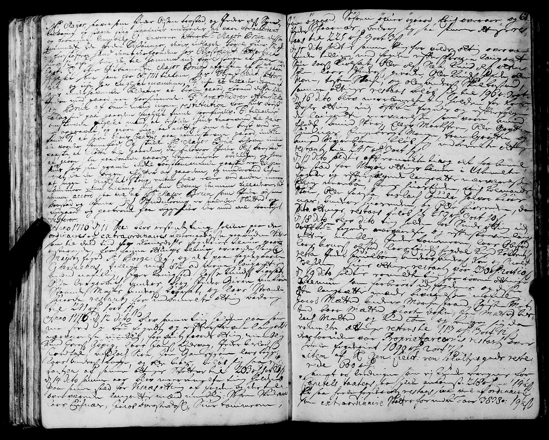 SAT, Romsdal sorenskriveri, 1/1A/L0008: Tingbok, 1714-1721, s. 66b-67a