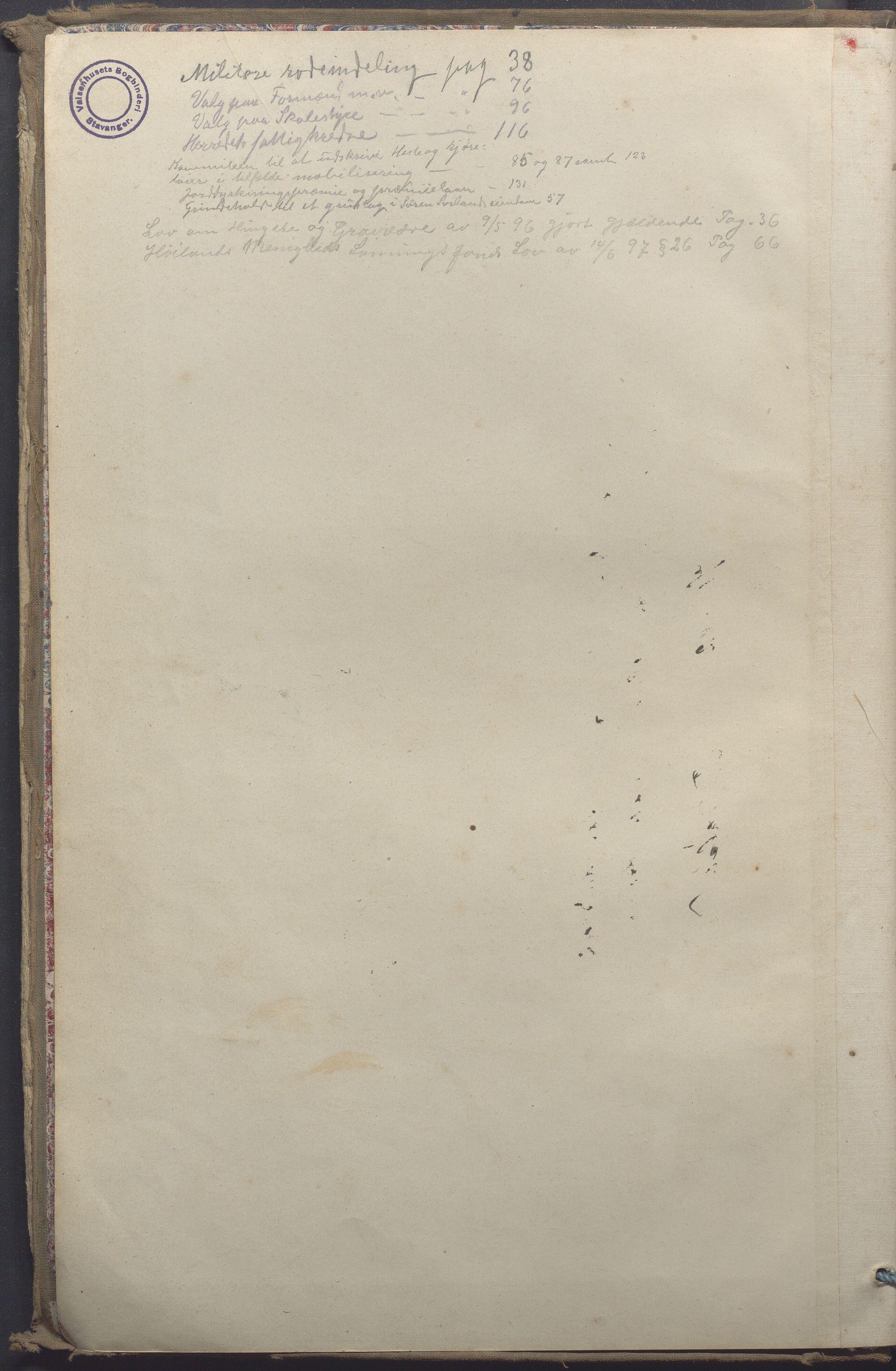 IKAR, Høyland kommune - Formannskapet, Aa/L0004: Møtebok, 1895-1904