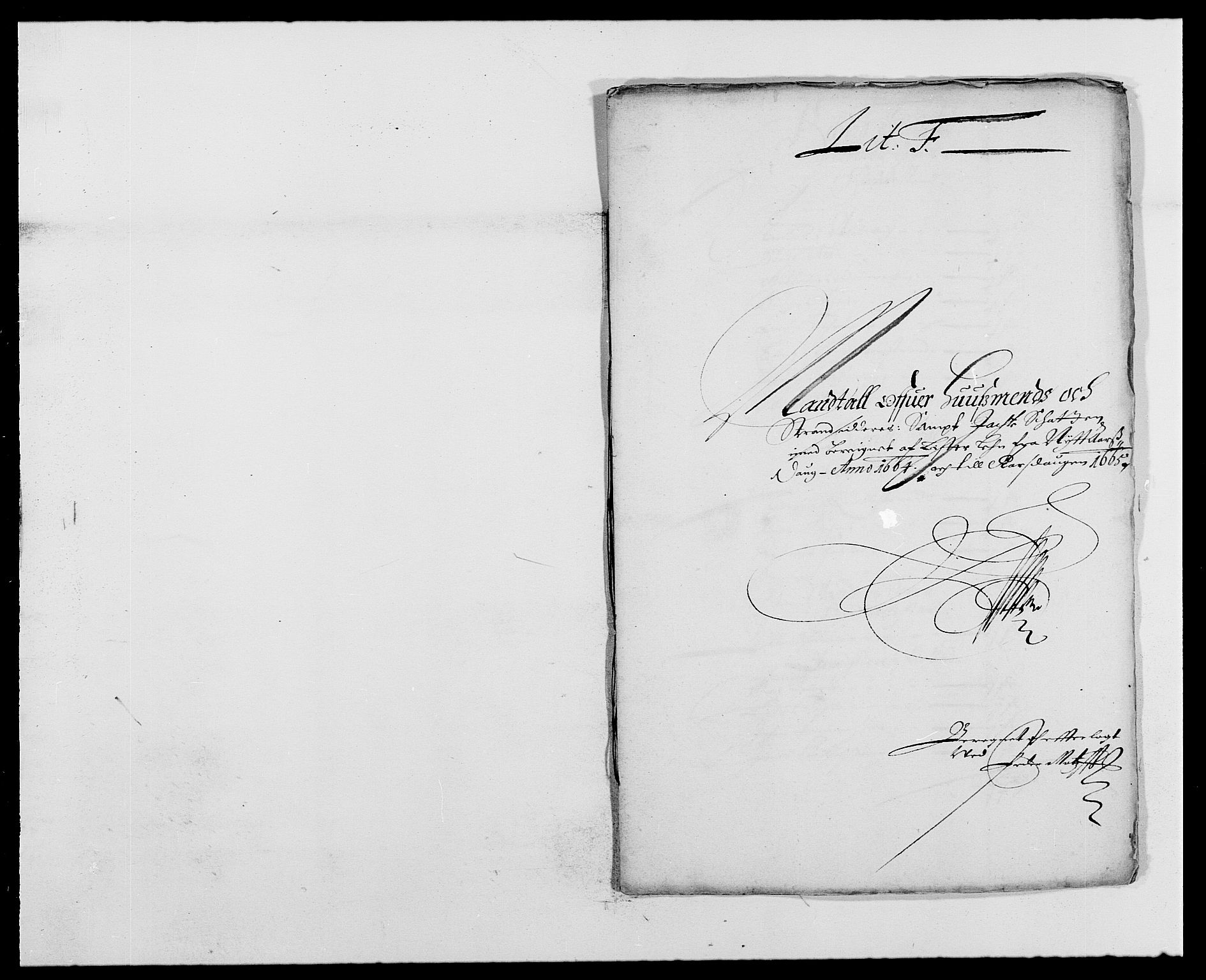 RA, Rentekammeret inntil 1814, Reviderte regnskaper, Fogderegnskap, R41/L2523: Fogderegnskap Lista, 1663-1664, s. 332