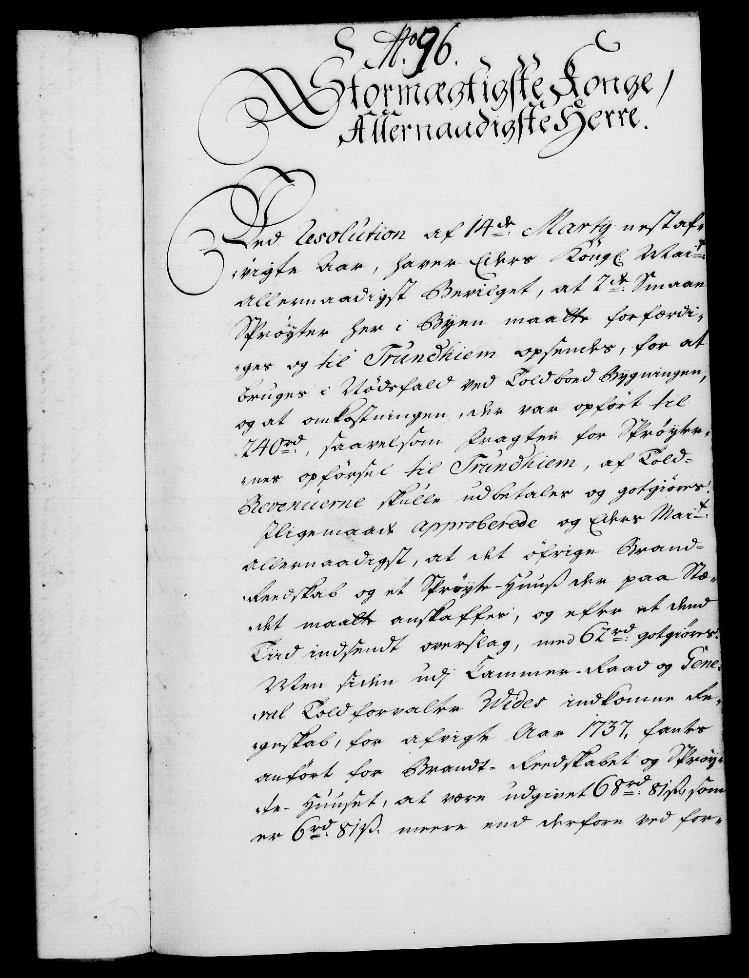 RA, Rentekammeret, Kammerkanselliet, G/Gf/Gfa/L0021: Norsk relasjons- og resolusjonsprotokoll (merket RK 52.21), 1738, s. 531