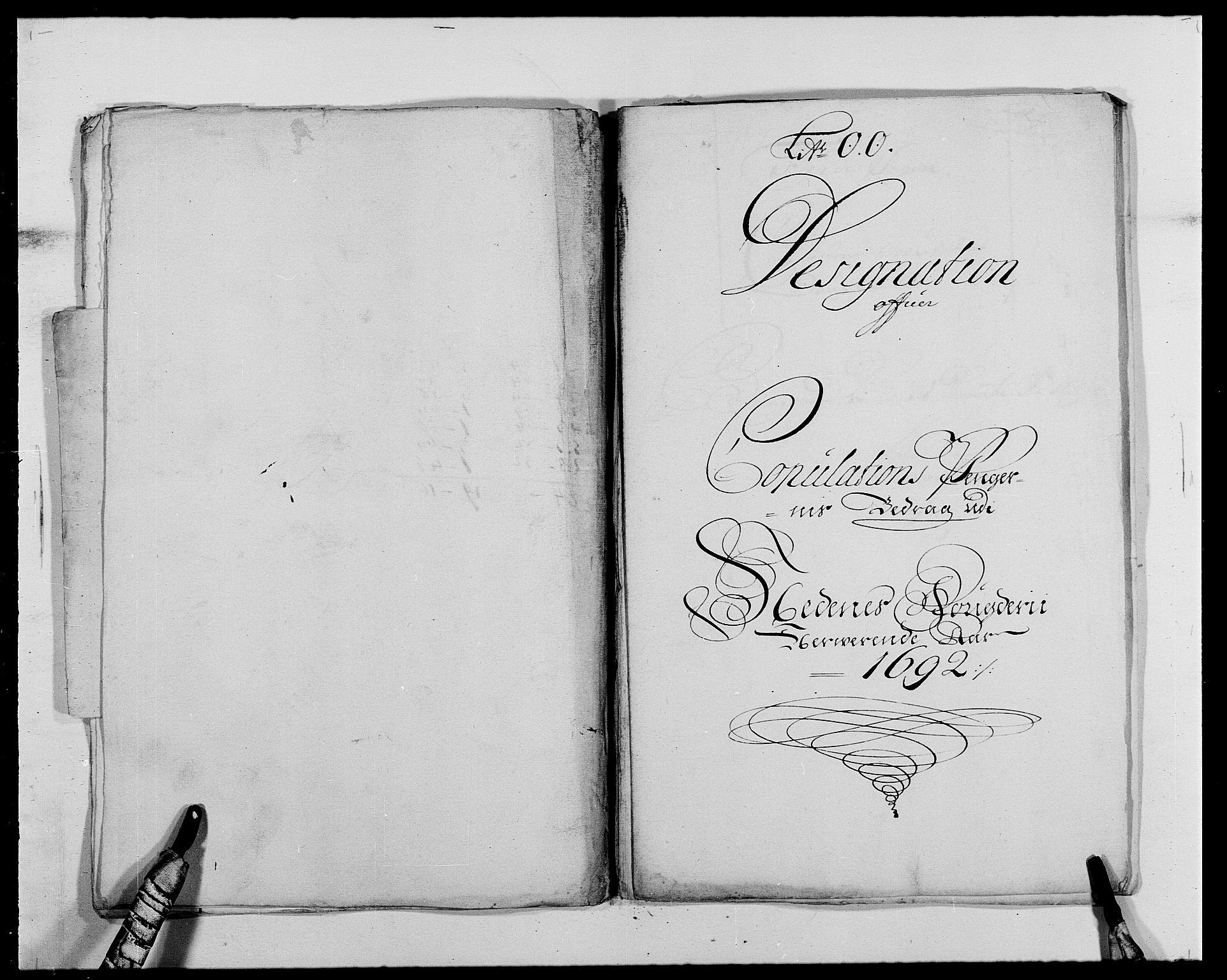 RA, Rentekammeret inntil 1814, Reviderte regnskaper, Fogderegnskap, R39/L2311: Fogderegnskap Nedenes, 1690-1692, s. 252