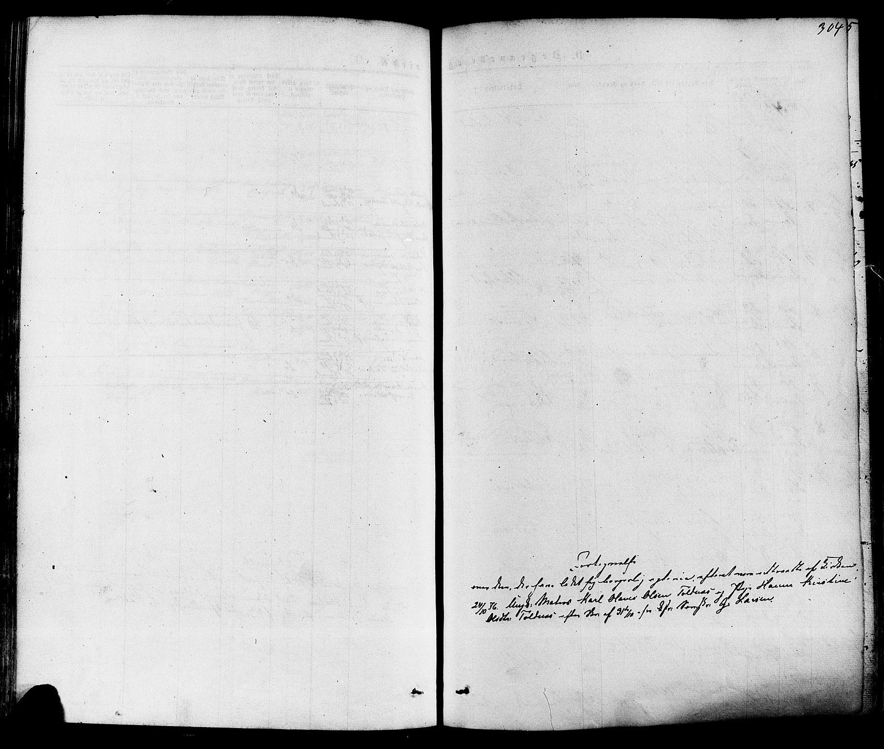 SAKO, Solum kirkebøker, F/Fa/L0008: Ministerialbok nr. I 8, 1865-1876, s. 304