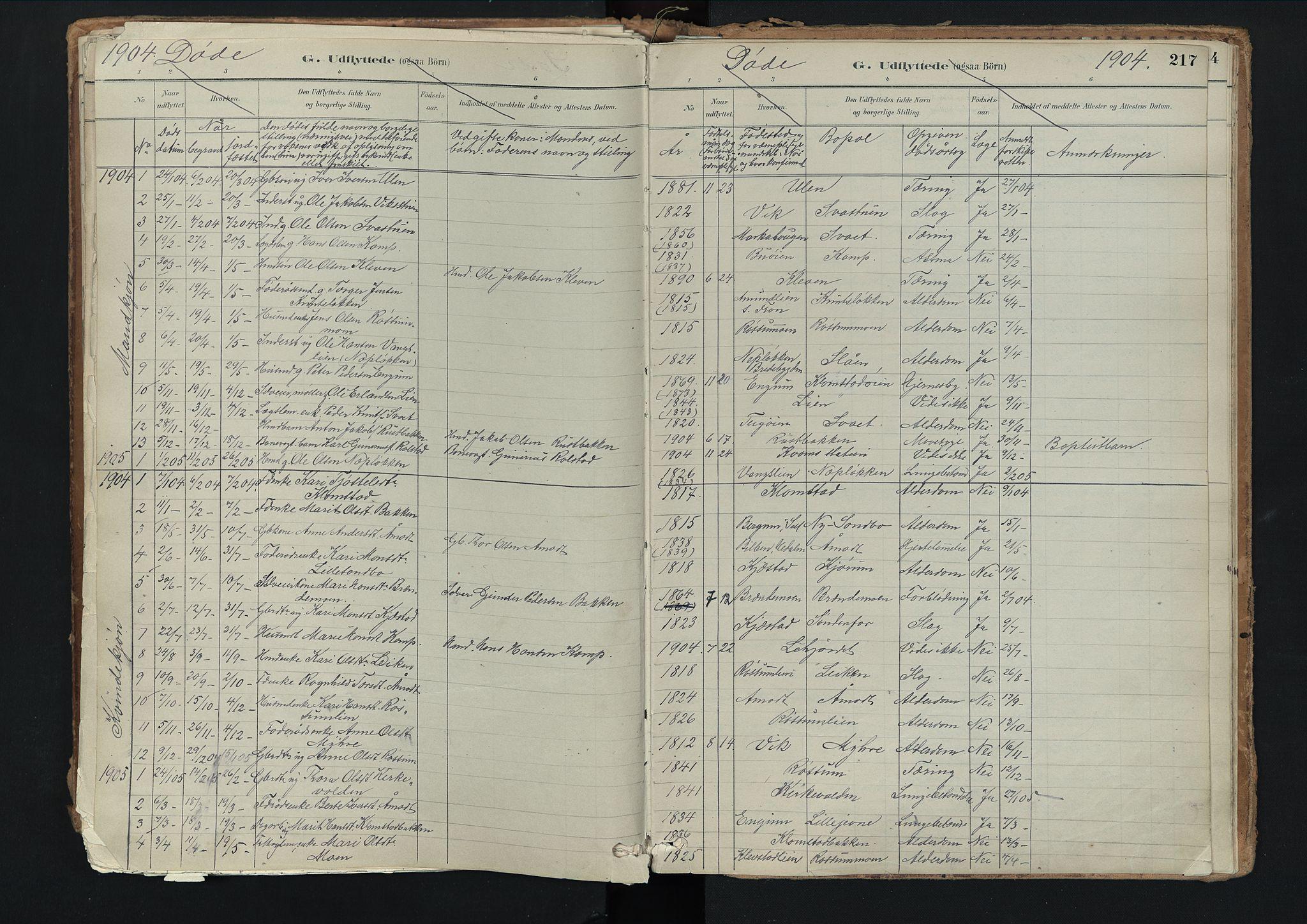 SAH, Nord-Fron prestekontor, Ministerialbok nr. 3, 1884-1914, s. 217