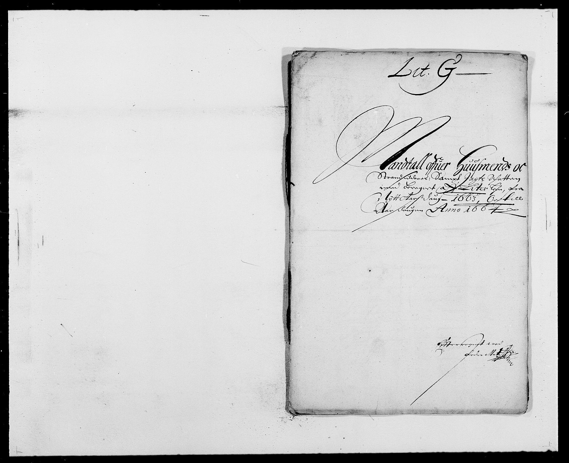 RA, Rentekammeret inntil 1814, Reviderte regnskaper, Fogderegnskap, R41/L2523: Fogderegnskap Lista, 1663-1664, s. 147