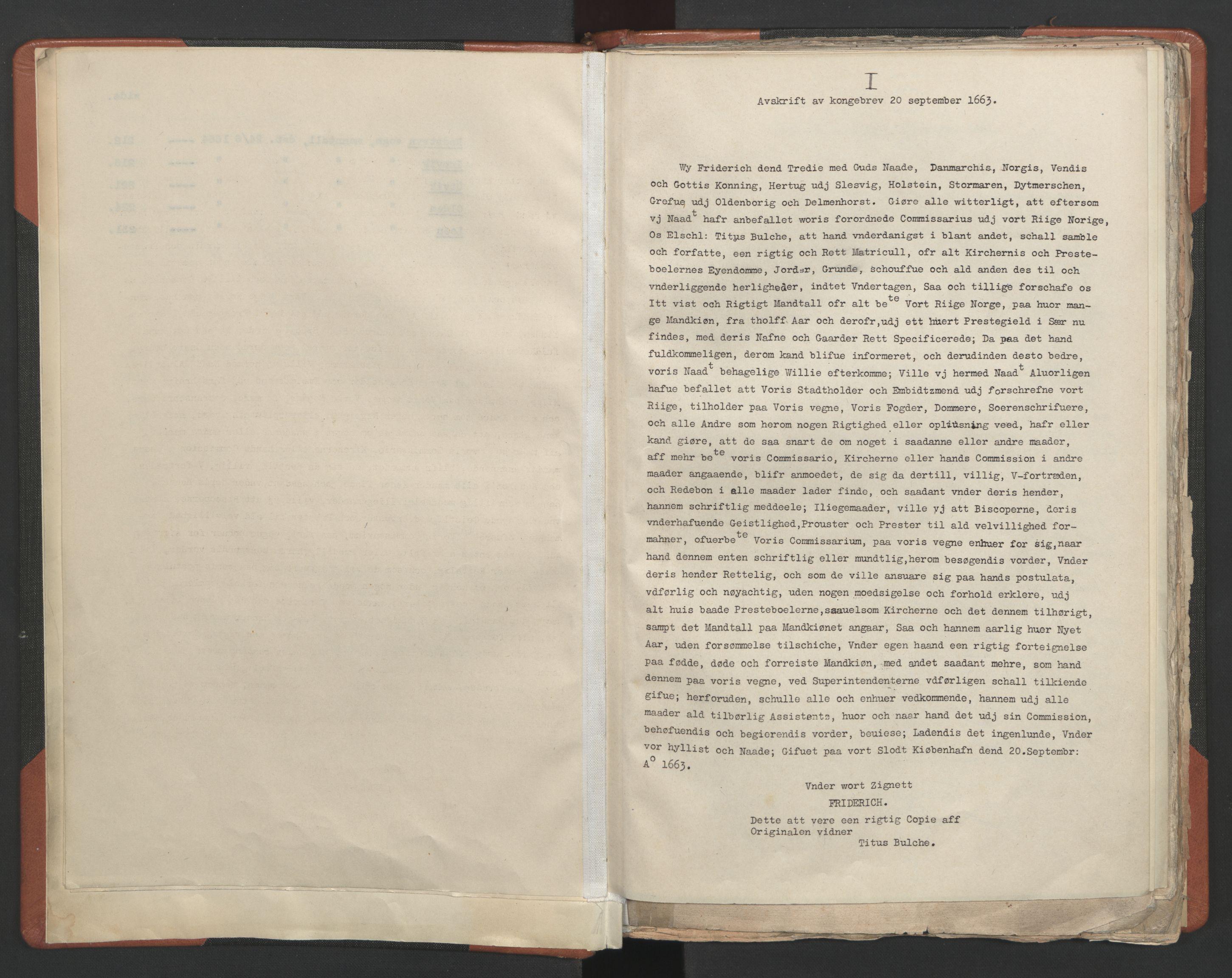 RA, Sogneprestenes manntall 1664-1666, nr. 25: Nordfjord prosti, 1664-1666, s. upaginert