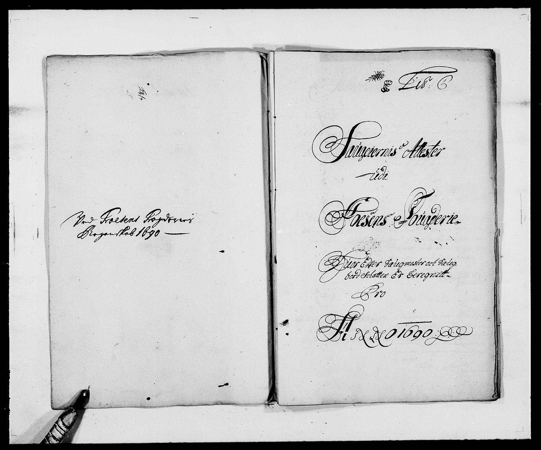 RA, Rentekammeret inntil 1814, Reviderte regnskaper, Fogderegnskap, R57/L3848: Fogderegnskap Fosen, 1690-1691, s. 69