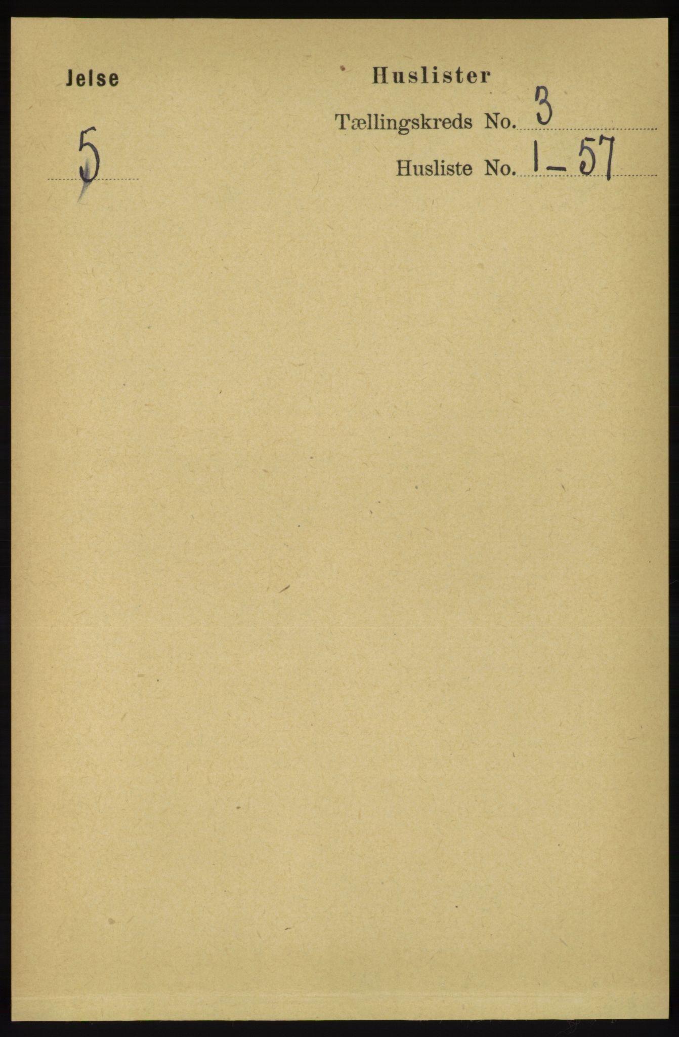 RA, Folketelling 1891 for 1138 Jelsa herred, 1891, s. 327