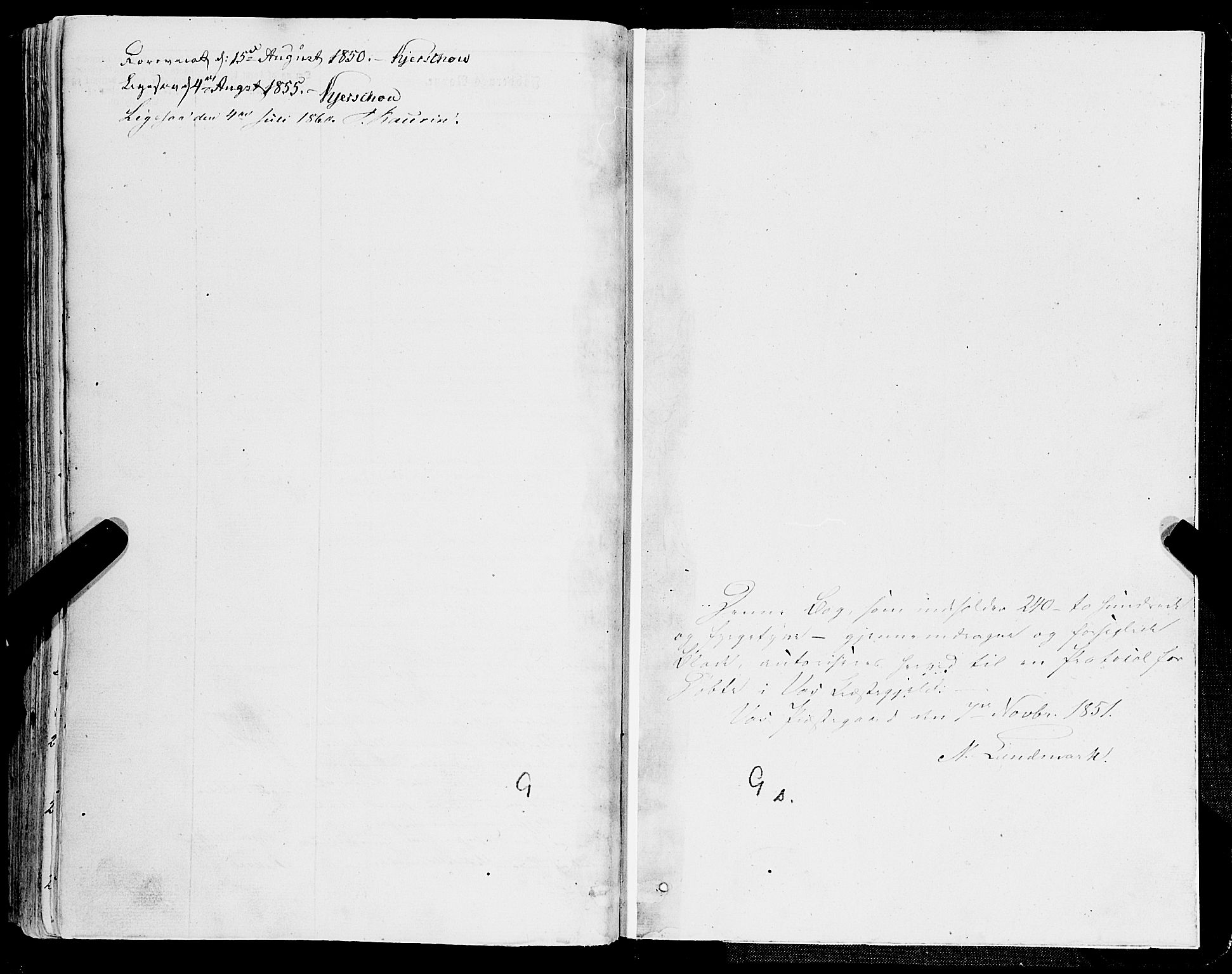 SAB, Voss Sokneprestembete, H/Haa: Ministerialbok nr. A 16, 1849-1863