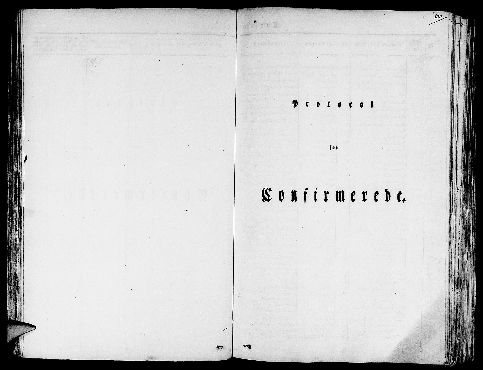 SAB, Eid Sokneprestembete, H/Haa: Ministerialbok nr. A 6, 1831-1843, s. 100