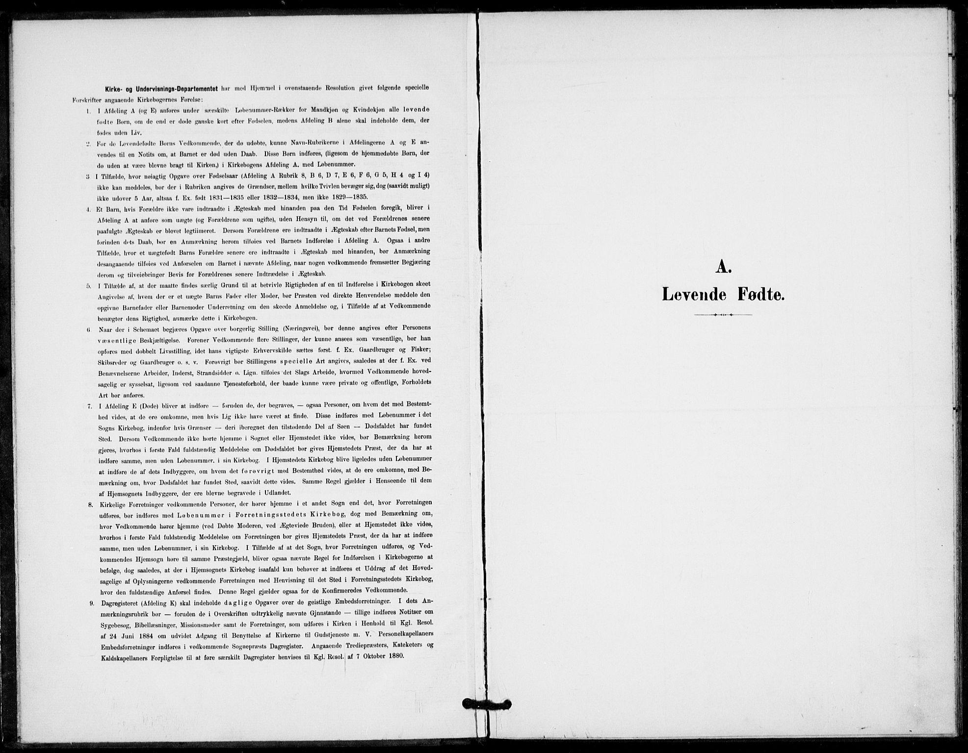 SAKO, Fyresdal kirkebøker, F/Fa/L0008: Ministerialbok nr. I 8, 1899-1914